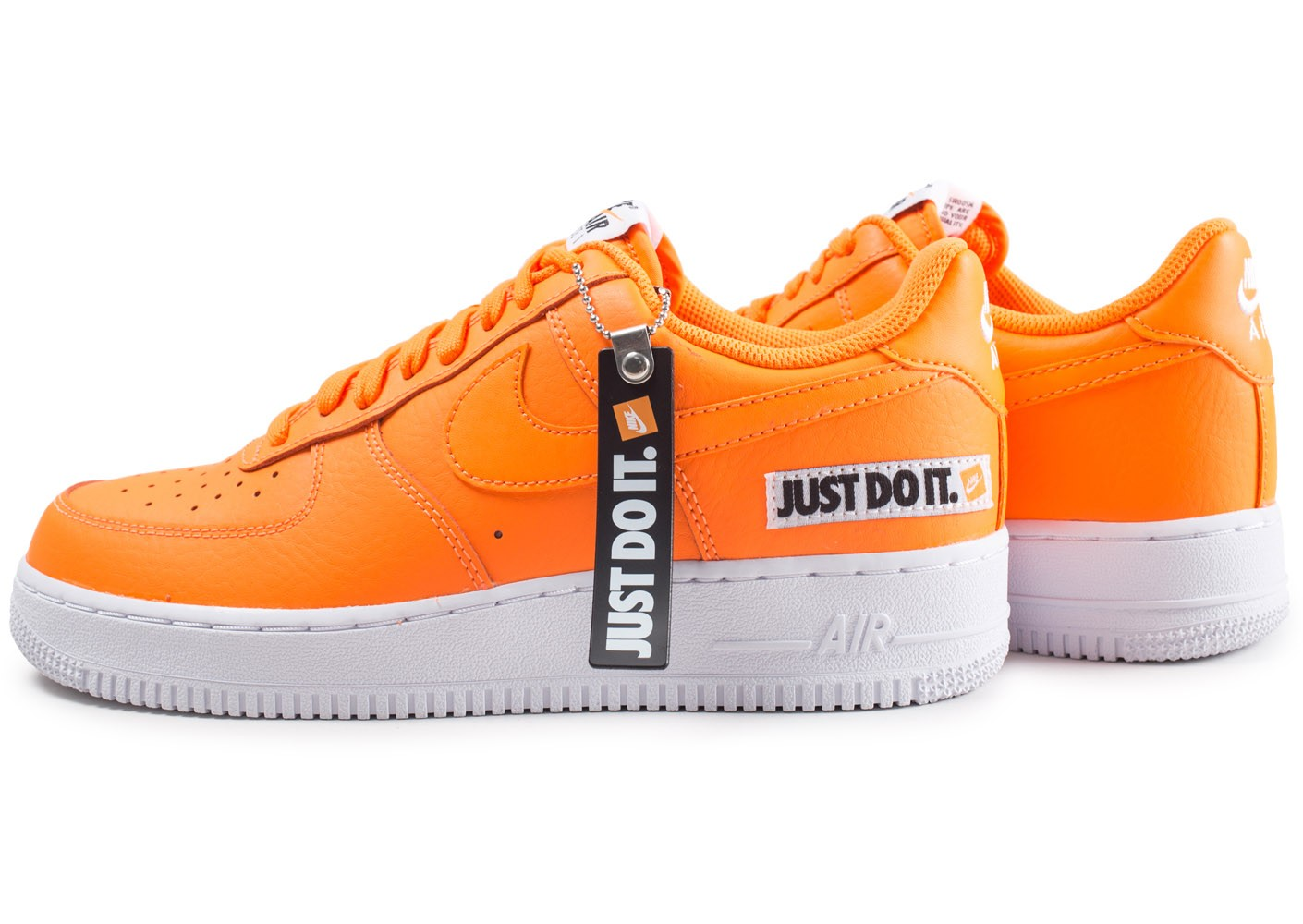 Nike Air Force 1 Just Do It orange Chaussures Baskets