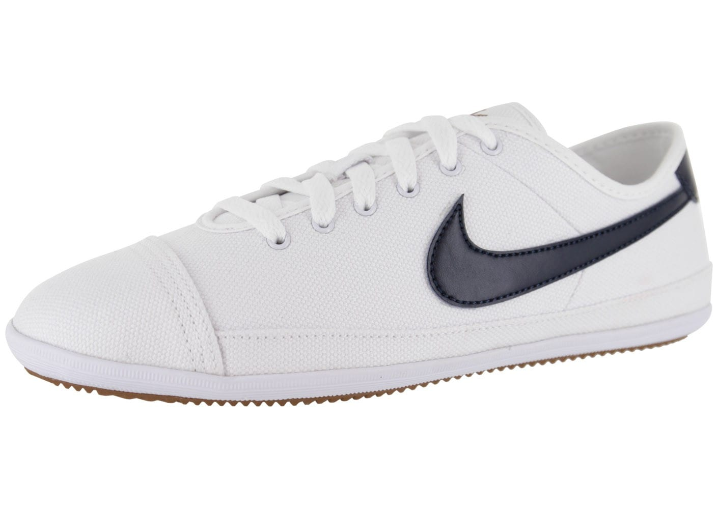 Nike Flash Toile Blanche - Chaussures Baskets homme - Chausport