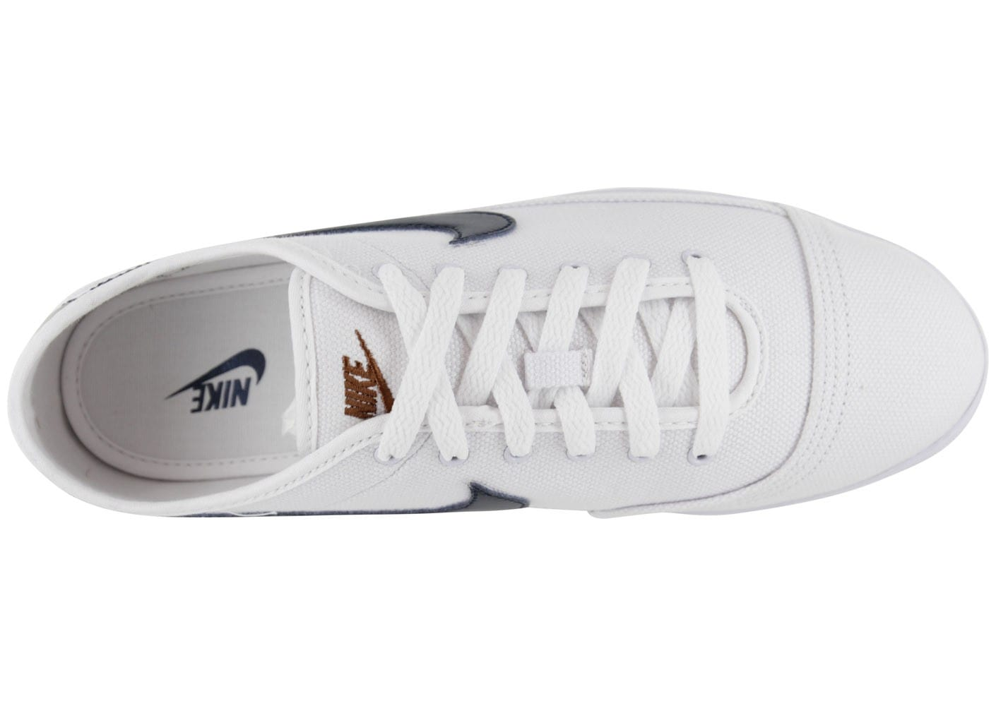 Nike Flash Toile Blanche - Chaussures Baskets homme - Chausport 083983388101