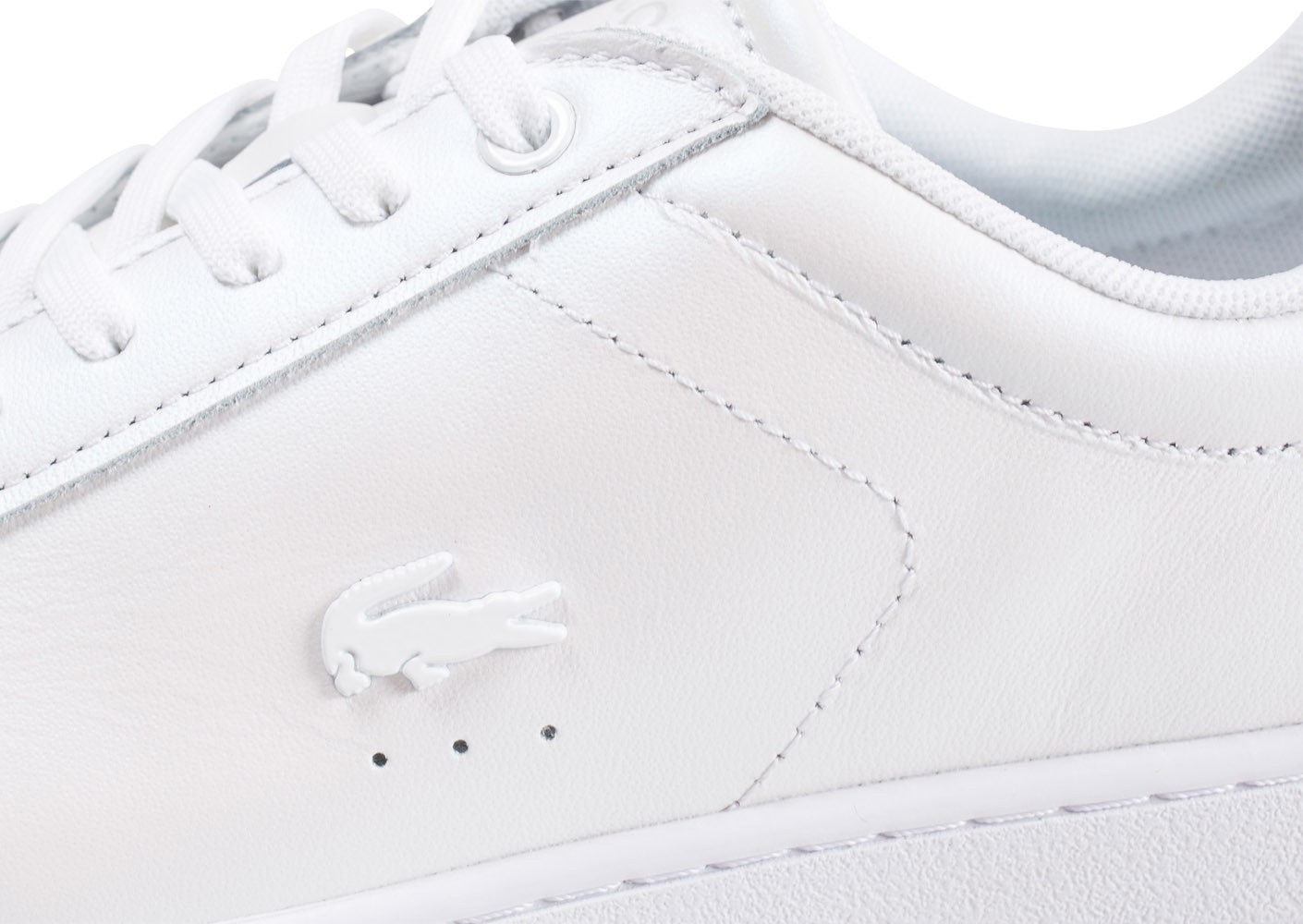 Lacoste Carnaby Evo blanc nacré femme Chaussures Baskets