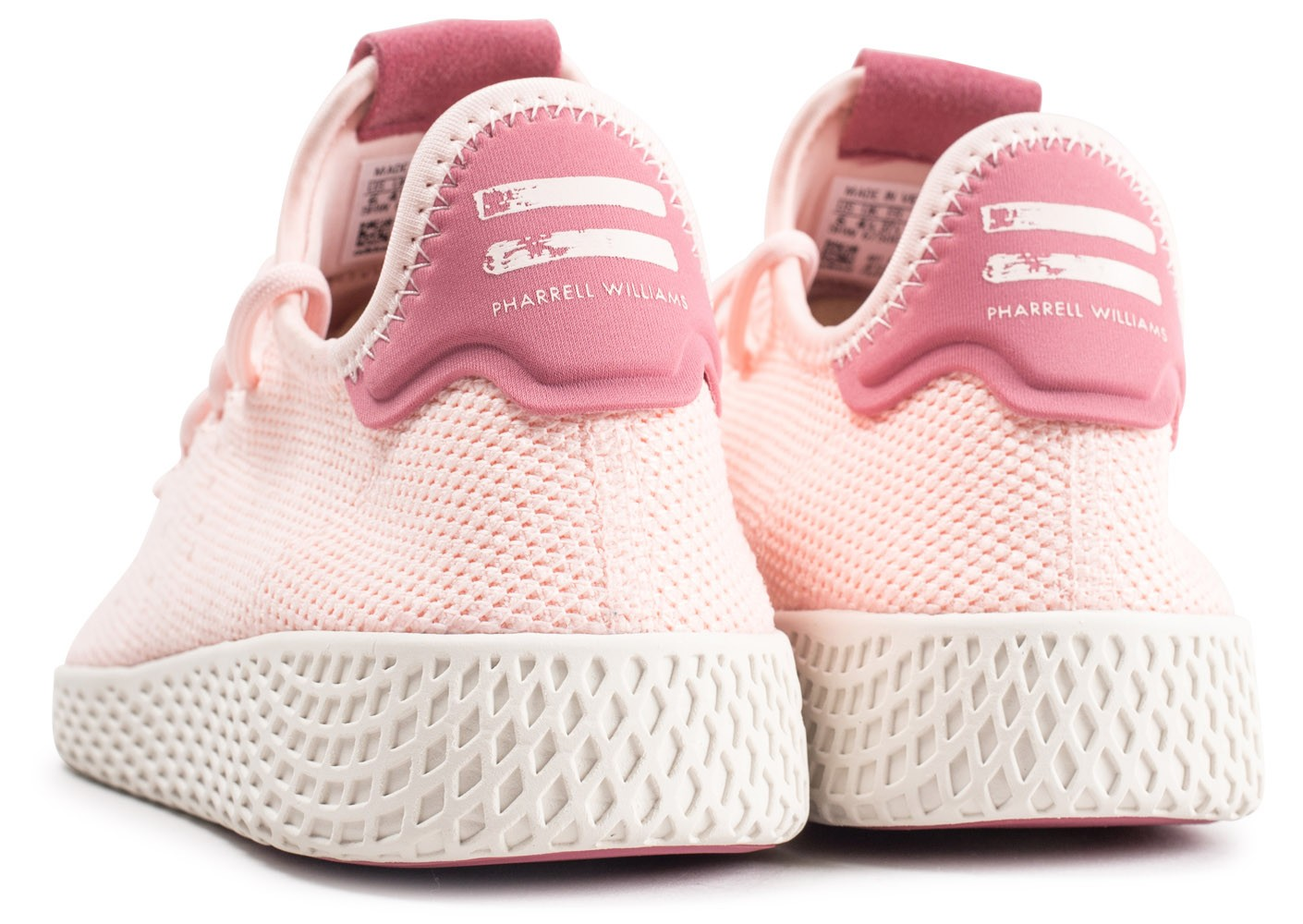 adidas Pharrell Williams Tennis Hu rose femme Chaussures