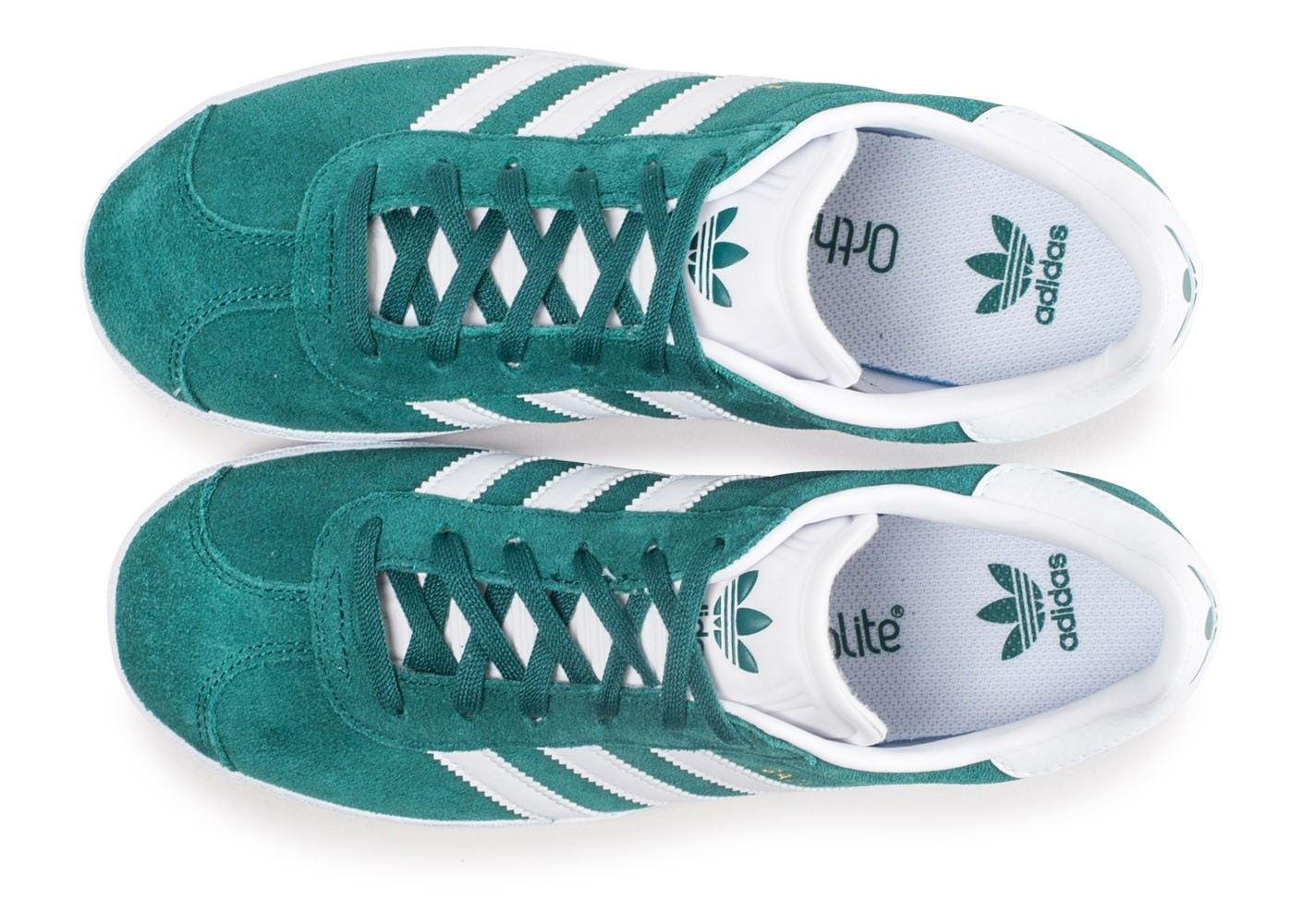 adidas Gazelle verte junior - Chaussures adidas - Chausport