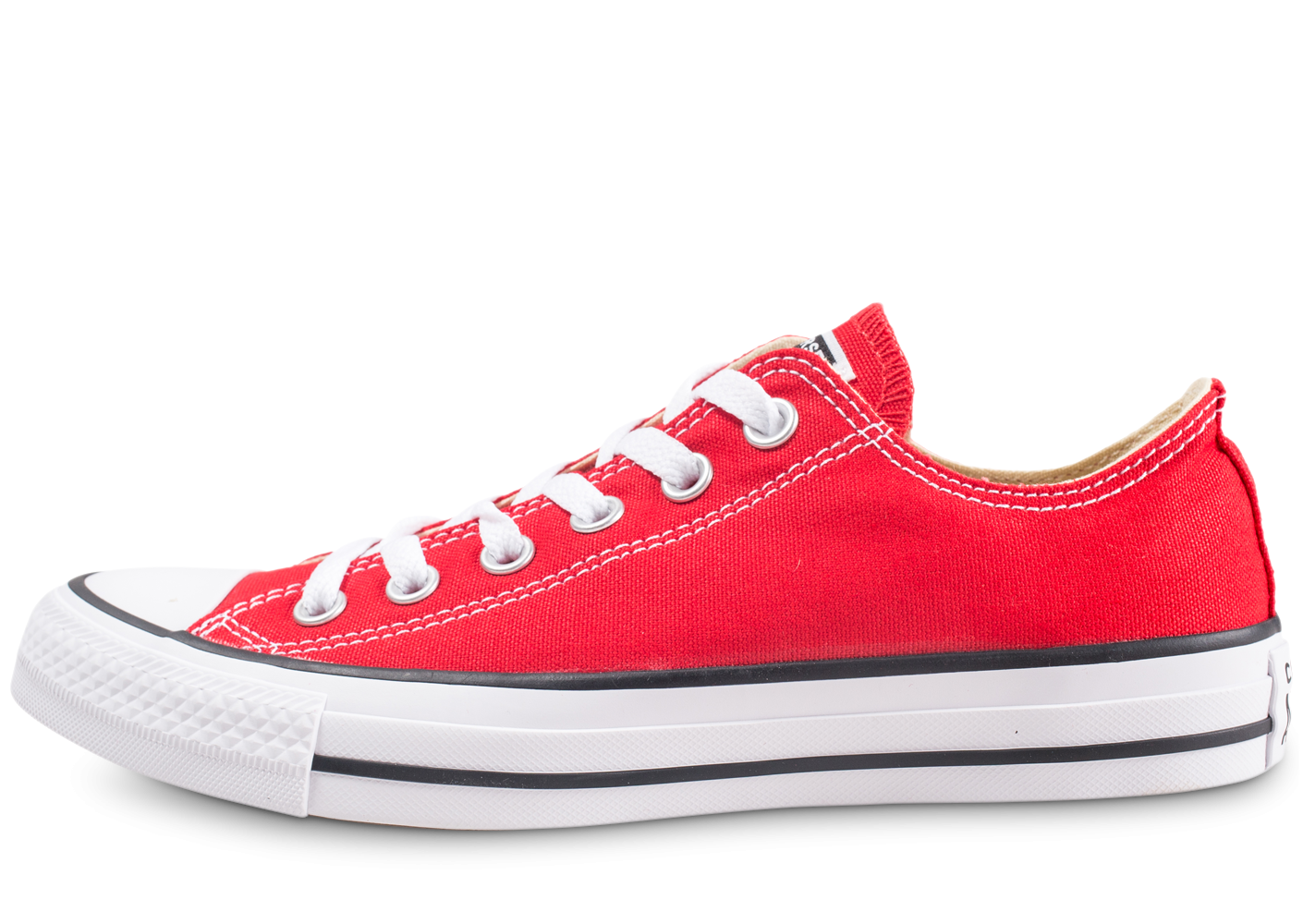 Converse Chuck Taylor All Star Low rouge