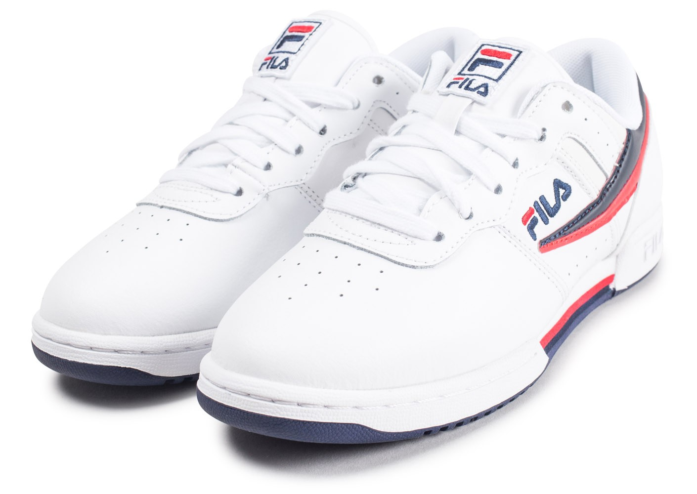 the latest 95e95 354a3 Fitness Fila Baskets Femme Chaussures Rouge Blanche Original Et OxBxqw4f