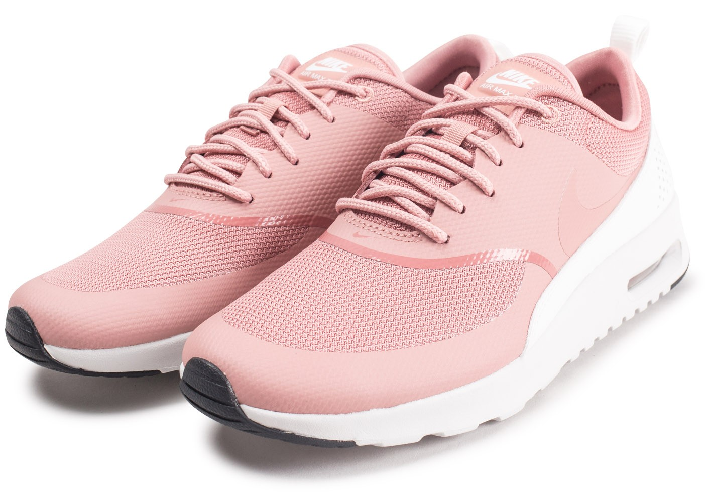 Nike Air Max Thea rose et blanche femme Chaussures Prix