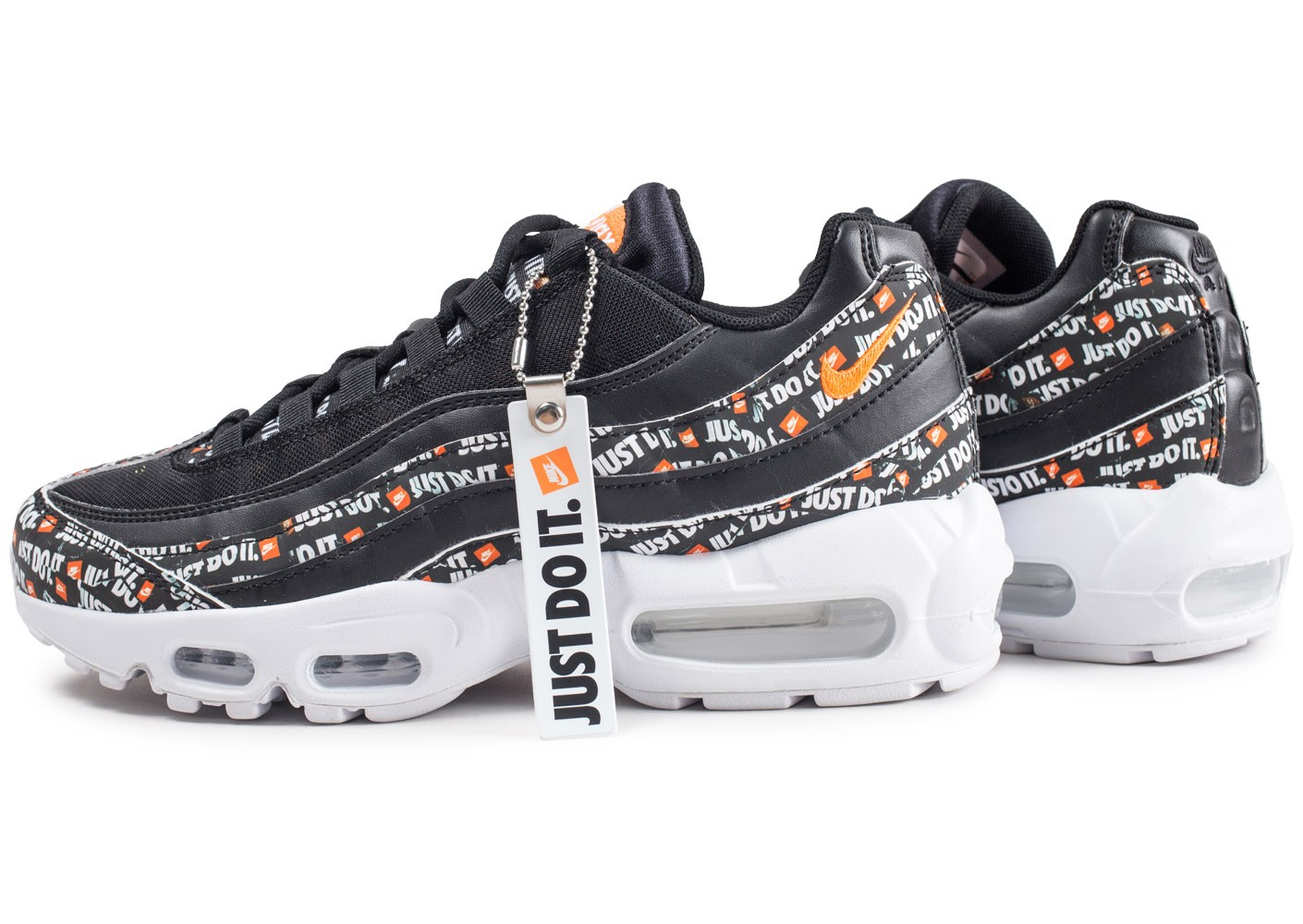 best price ever popular popular stores Nike Air Max 95 Just Do It noire - Chaussures Baskets homme ...