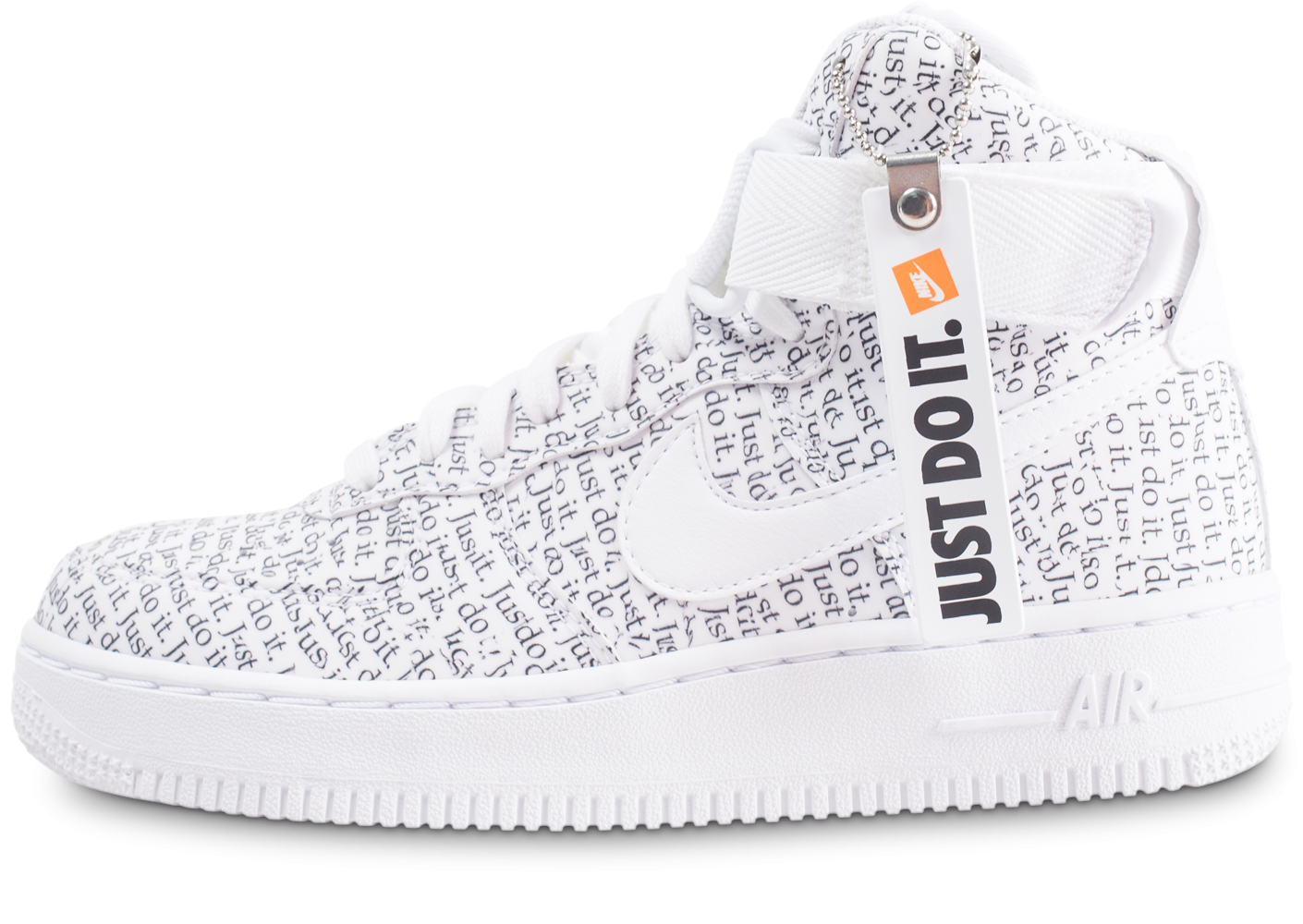 Nike Air Force 1 High Just do it LX blanche femme