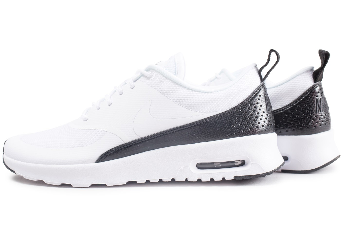 Nike Air Max Thea blanche et noire Chaussures Baskets