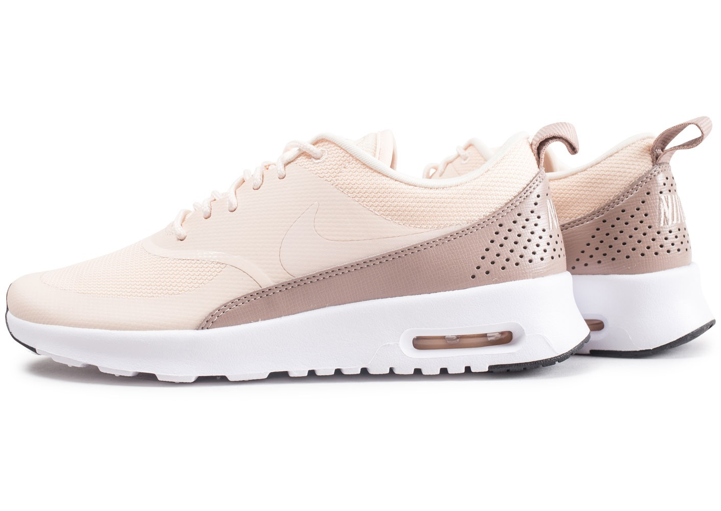 design intemporel 20498 6c0db Nike Air Max Thea beige femme - Chaussures Baskets femme ...
