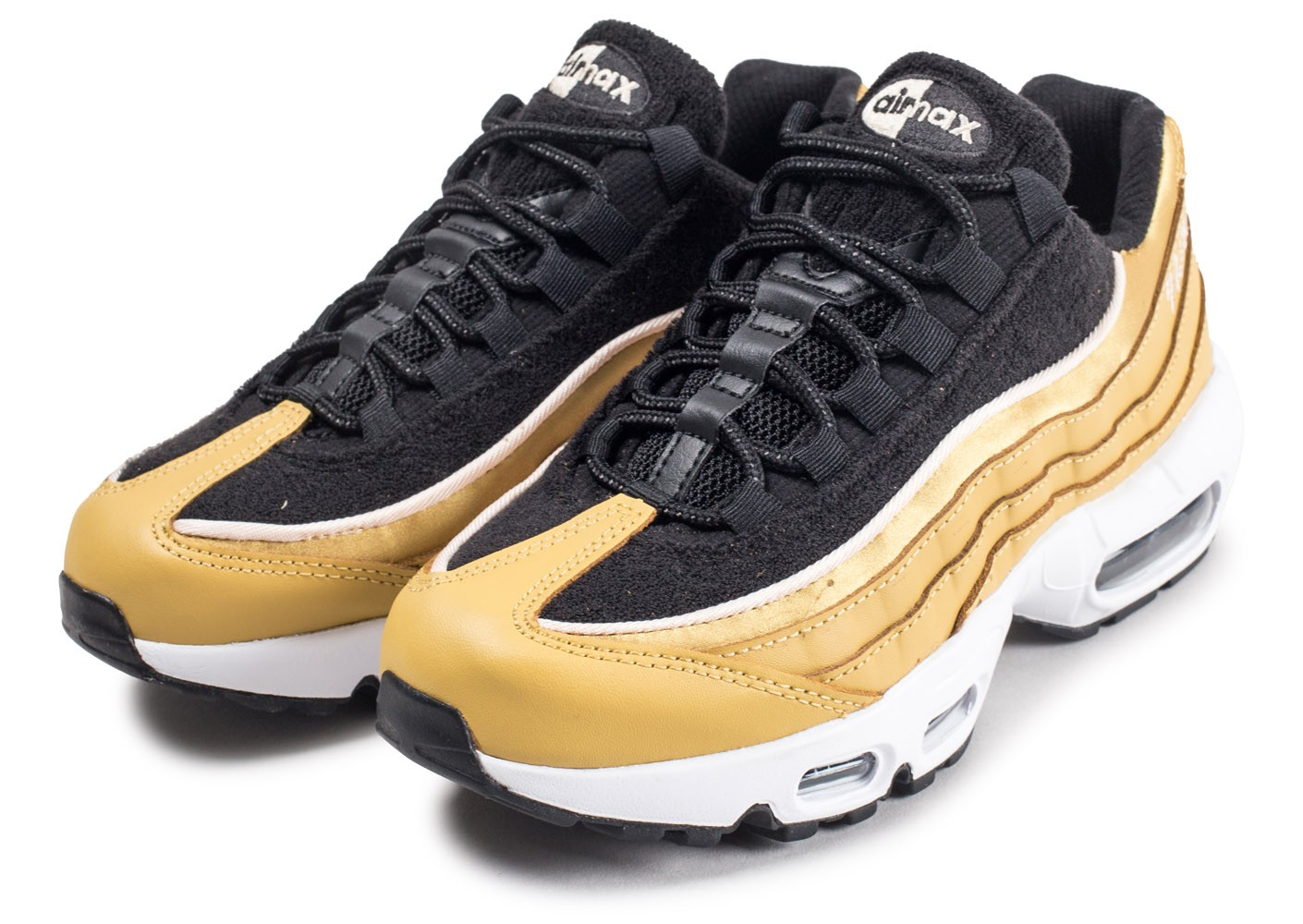 newest collection 0307a d8b0a ... Chaussures Nike Air Max 95 LX or femme vue intérieure ...