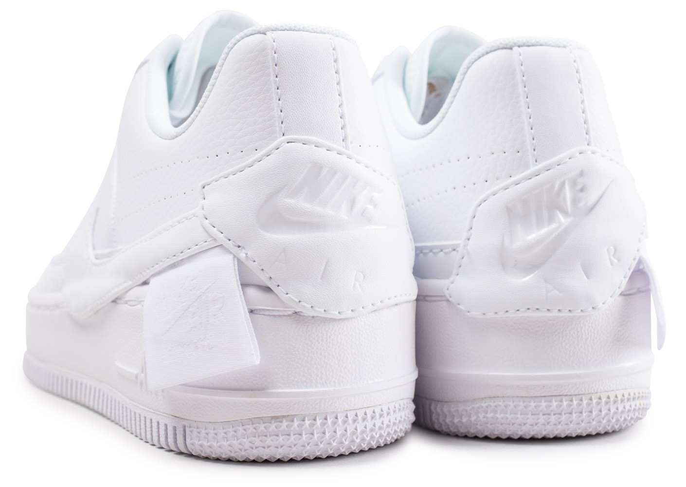 detailed look c23e6 6a506 ... Chaussures Nike Air Force 1 Jester XX blanche femme vue dessous ...