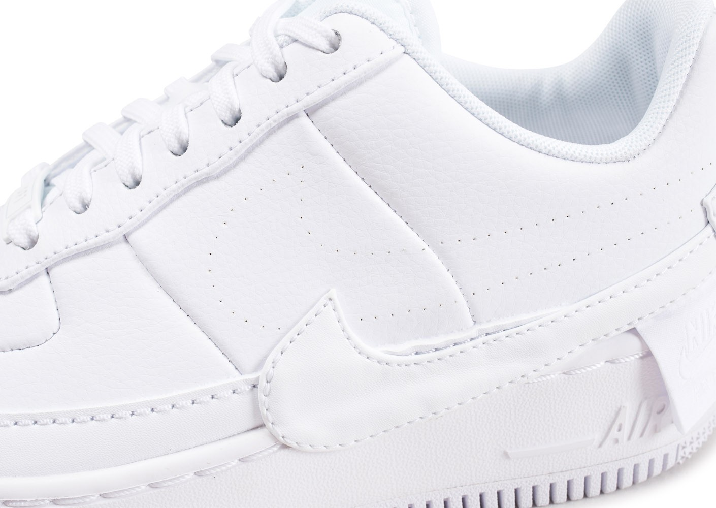 online store 6e42f 28106 ... Chaussures Nike Air Force 1 Jester XX blanche femme vue dessus