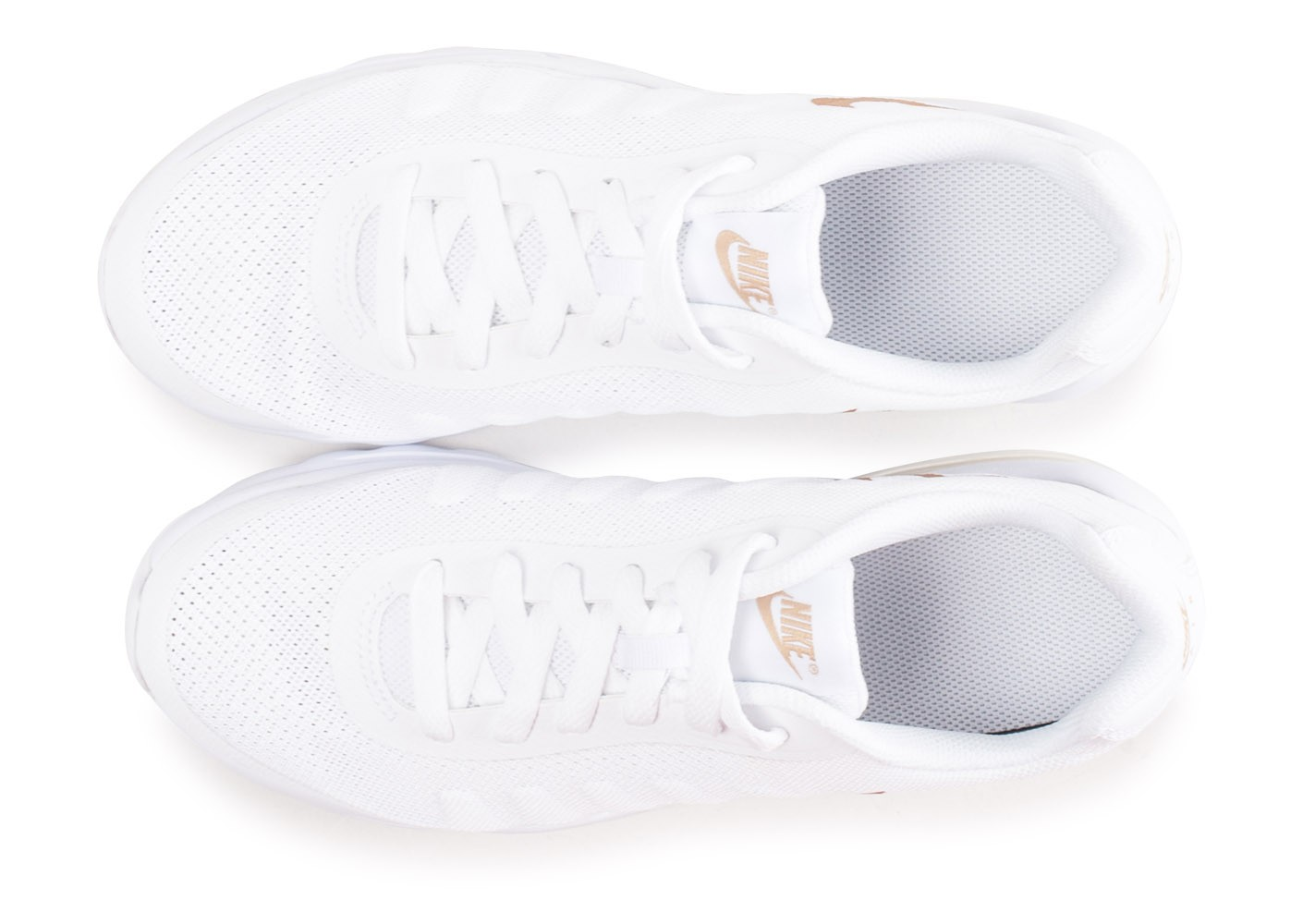 new product 3cb7b 7099f ... Chaussures Nike Air Max Invigor blanche junior vue arrière ...