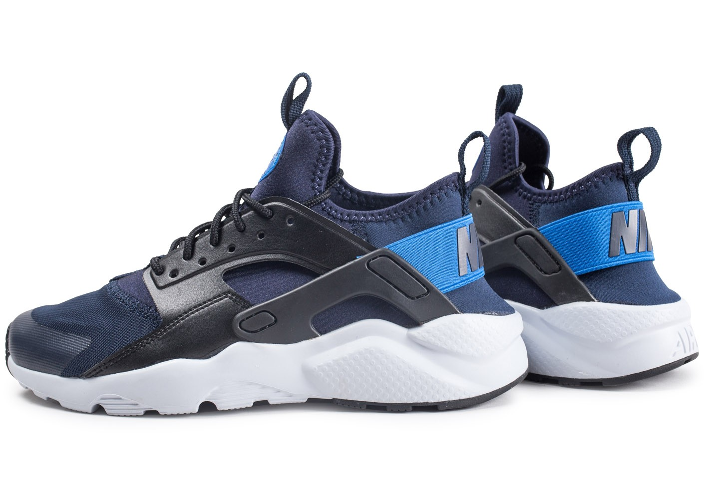 check out 7de6e 656ca Air Enfant Nike Chaussures Chausport Huarache Ultra Run Junior Bleue  5cS34AjRqL