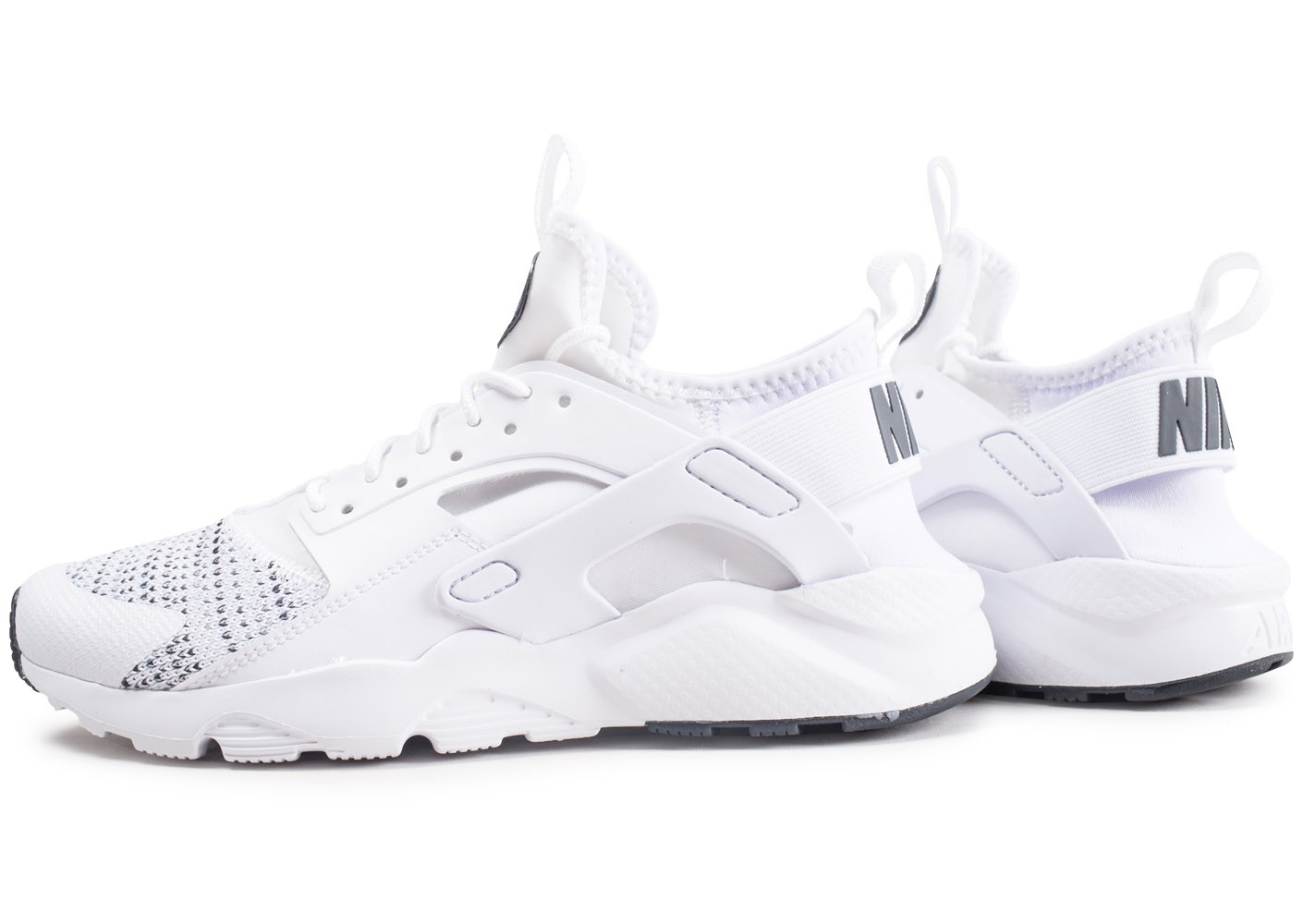 Nike Air Huarache Run Ultra blanche junior Chaussures