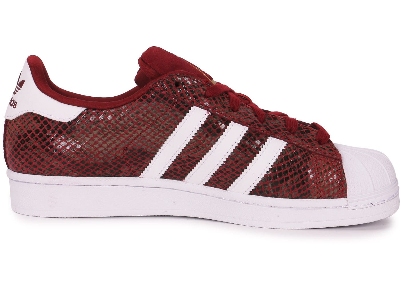 adidas Superstar Snake Junior Rouge Chaussures adidas