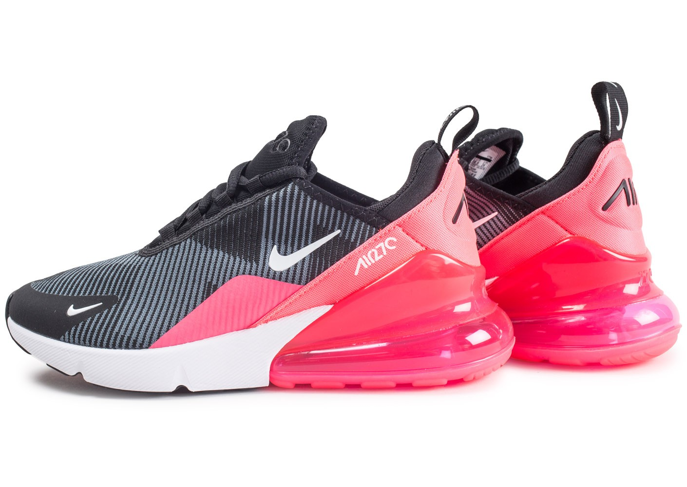 Nike Air Max 270 Knit Jacquard rose - Chaussures Enfant ...