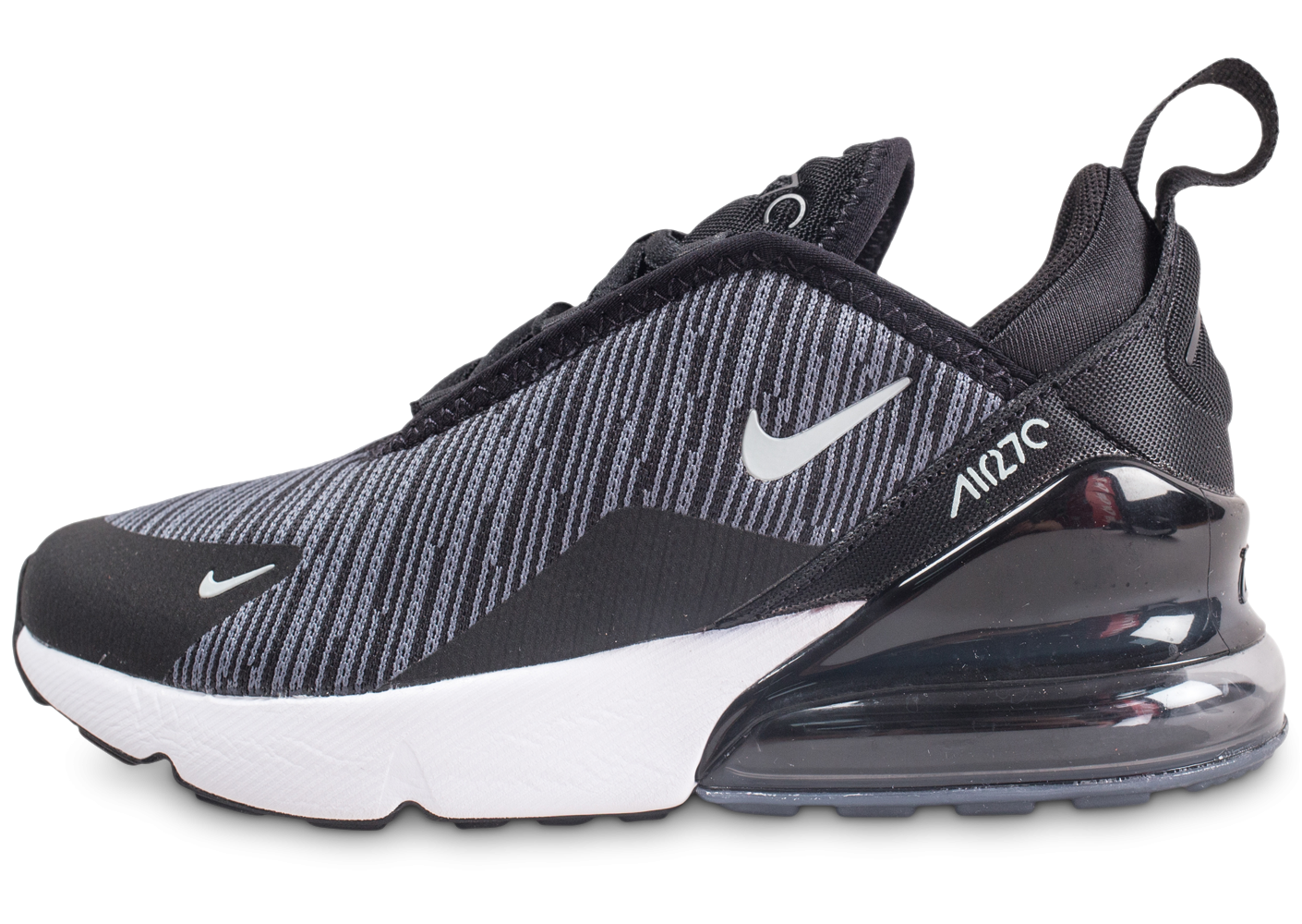 new cheap amazon sold worldwide Nike Air Max 270 noir et gris enfant