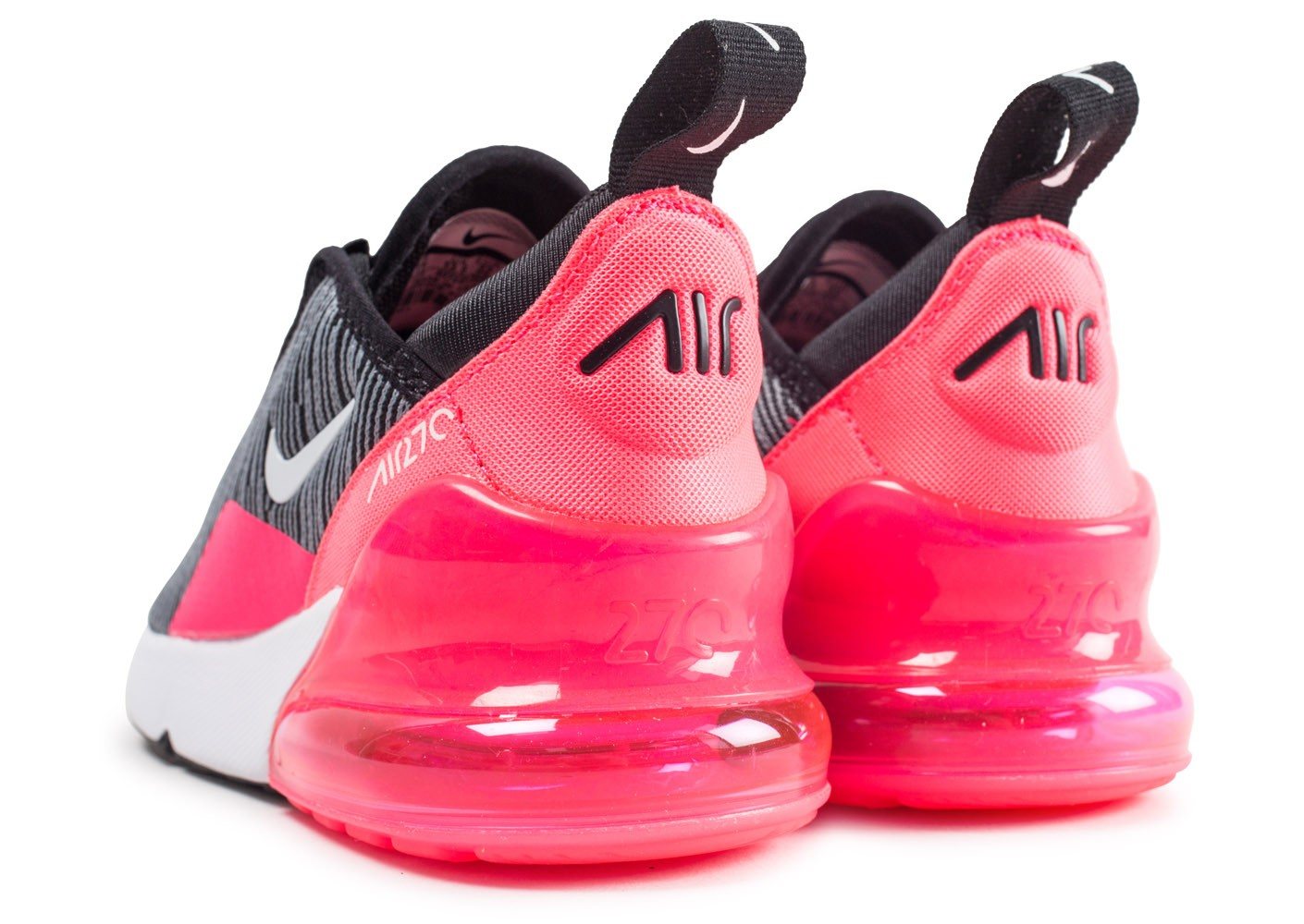 official shop utterly stylish superior quality Nike Air Max 270 noire et rose enfant - Chaussures Enfant ...