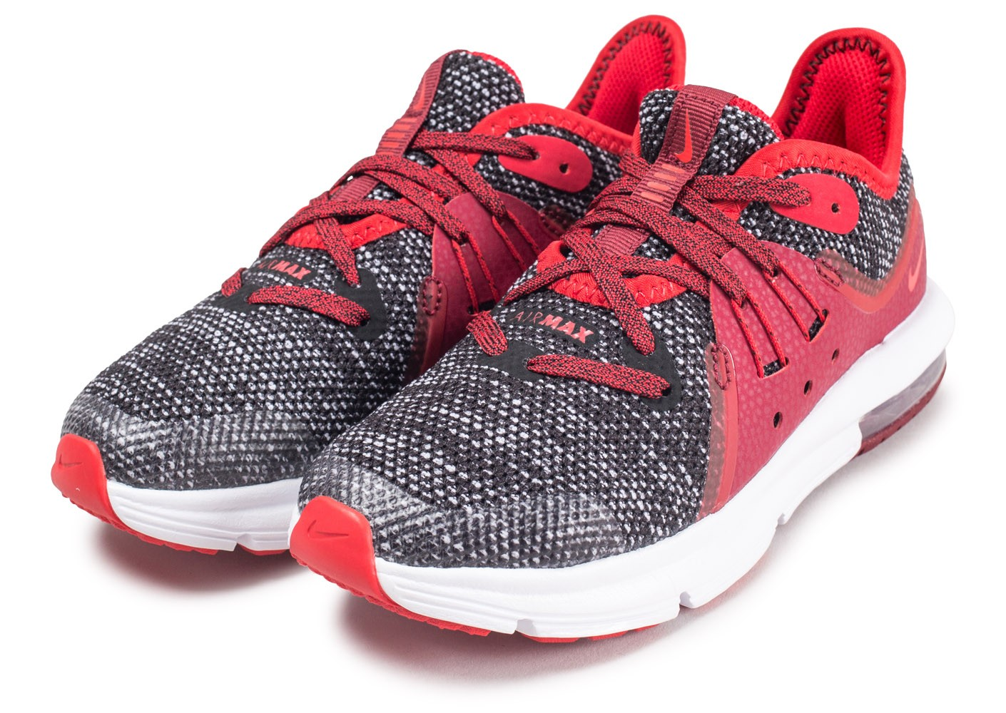 Nike Air Max Sequent 3 Enfant rouge Chaussures Baskets