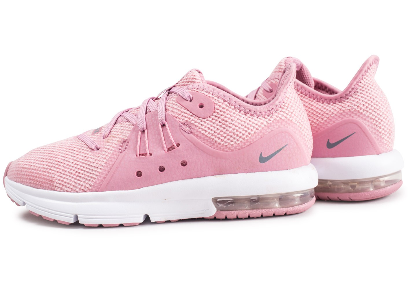 Chaussures Sequent mode enfant rose Nike Air 2 baskets et