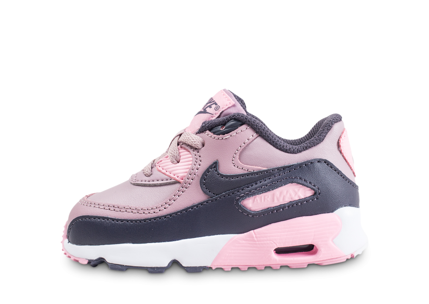 new styles 8b4bf 5968e Nike Air Max 90 Leather rose bébé - Chaussures Enfant - Chausport
