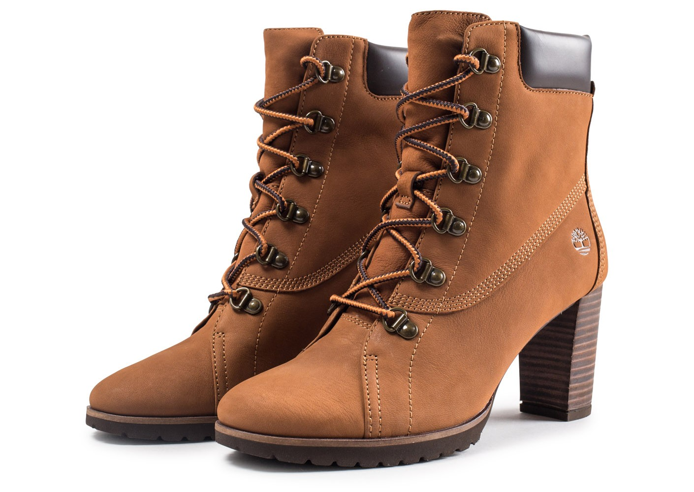 Chaussures Anne Baskets femme Leslie marron Timberland QdrCxWBeo