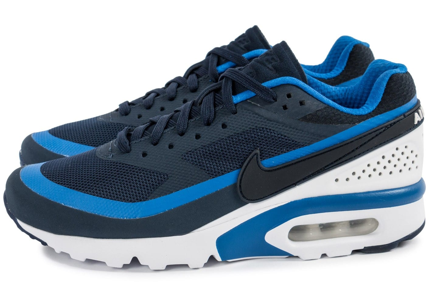 nike air max bw ultra bleu marine chaussures baskets homme chausport. Black Bedroom Furniture Sets. Home Design Ideas