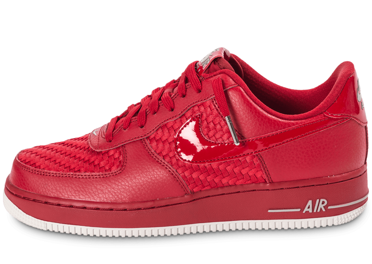... Chaussures Nike Air Force 1 LV8 Low rouge vue avant ...