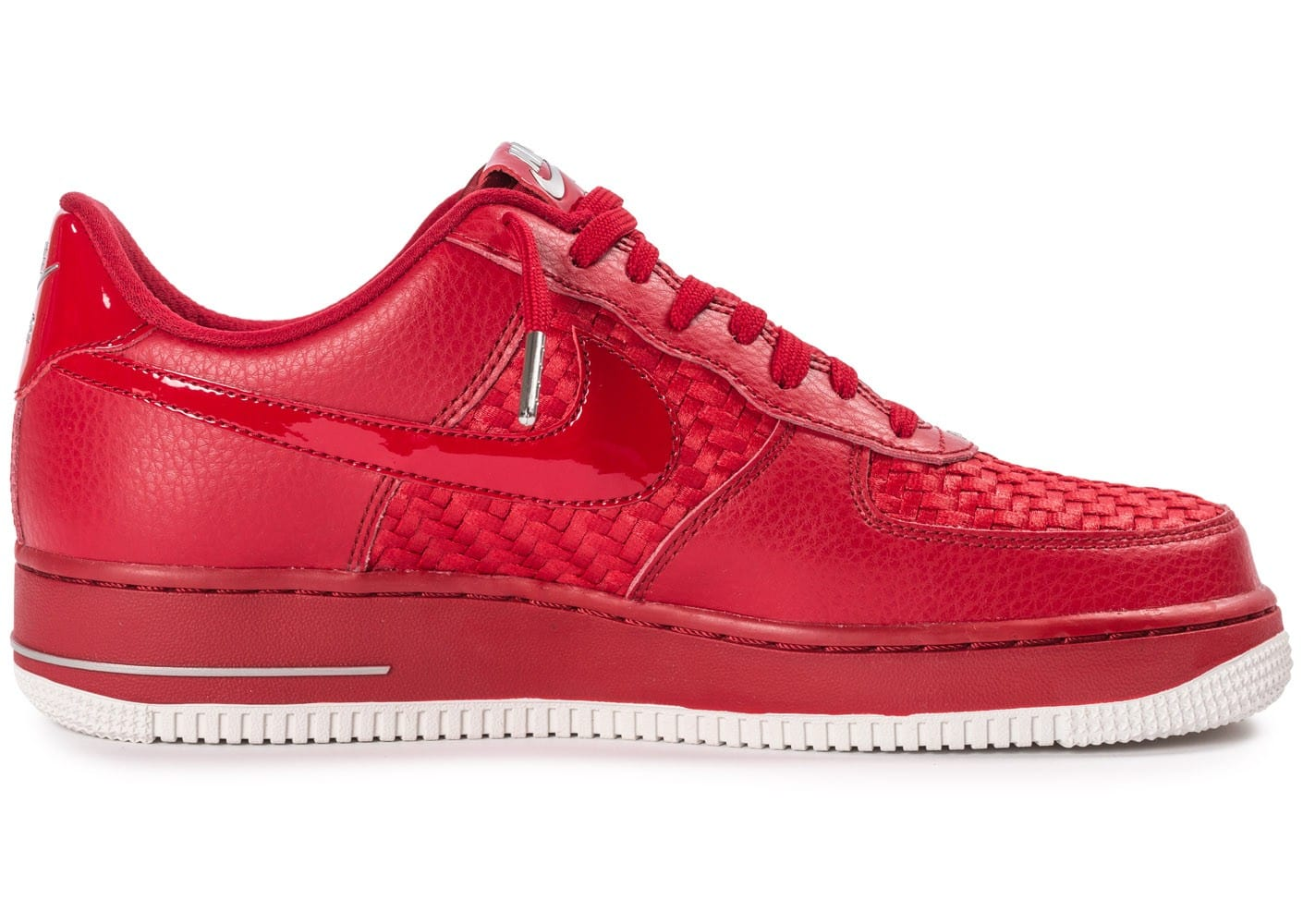 1 Chaussures Homme Nike Air Force Baskets Chausport Low Rouge Lv8 rCWQdxoeB