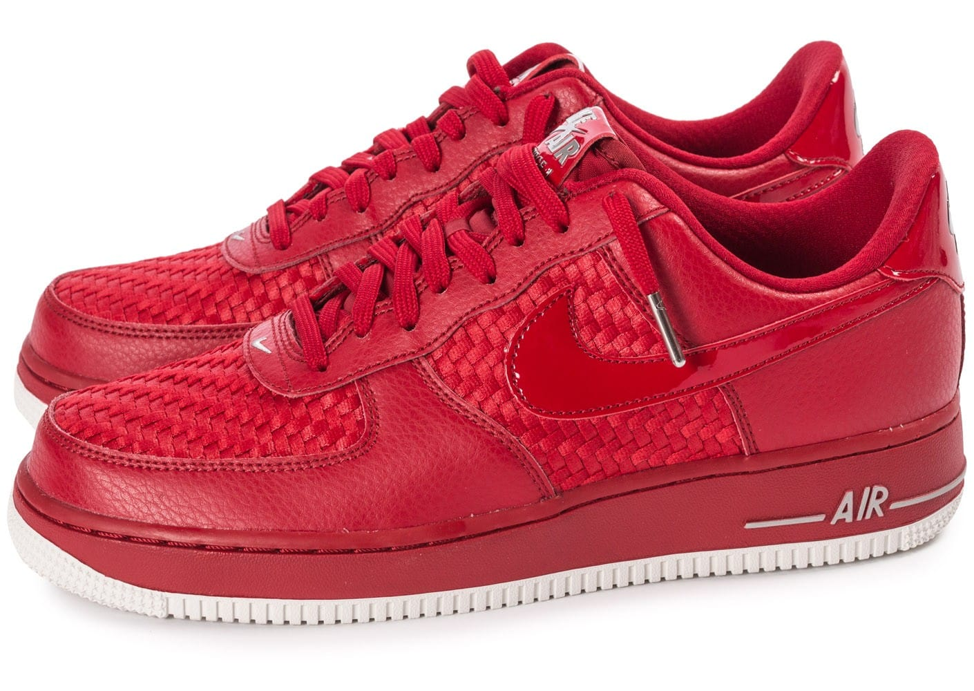 Nike Air Force 1 Basse Rouge Air Force 1 Nike Homme Nike Air