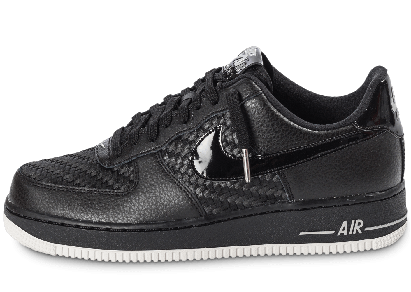 Nike Air Force SE Low noire Chaussures Baskets Chausport 1