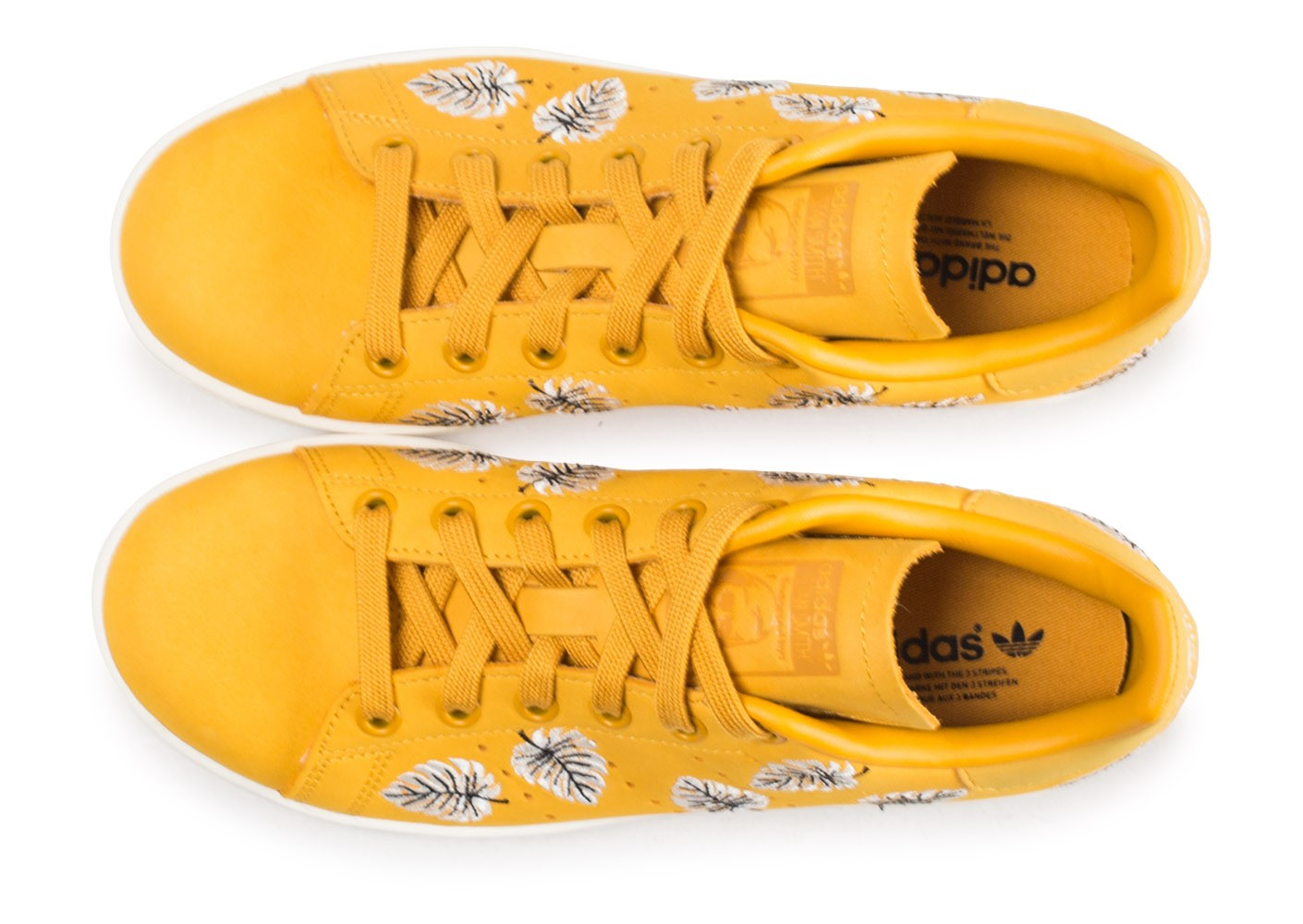 adidas stan smith the farm company jaune femme