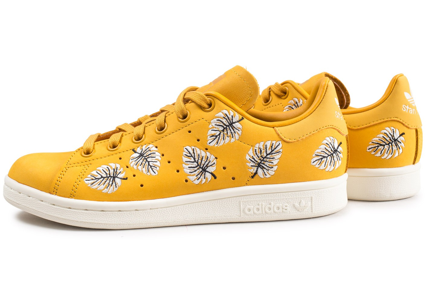 adidas Stan Smith The Farm Company jaune femme - Chaussures ...