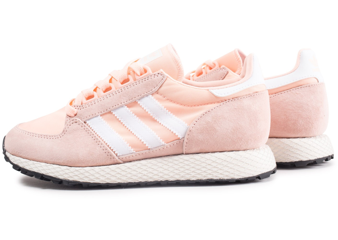 adidas femme Grove et rose Chaussures adidas Forest blanche UUHxz