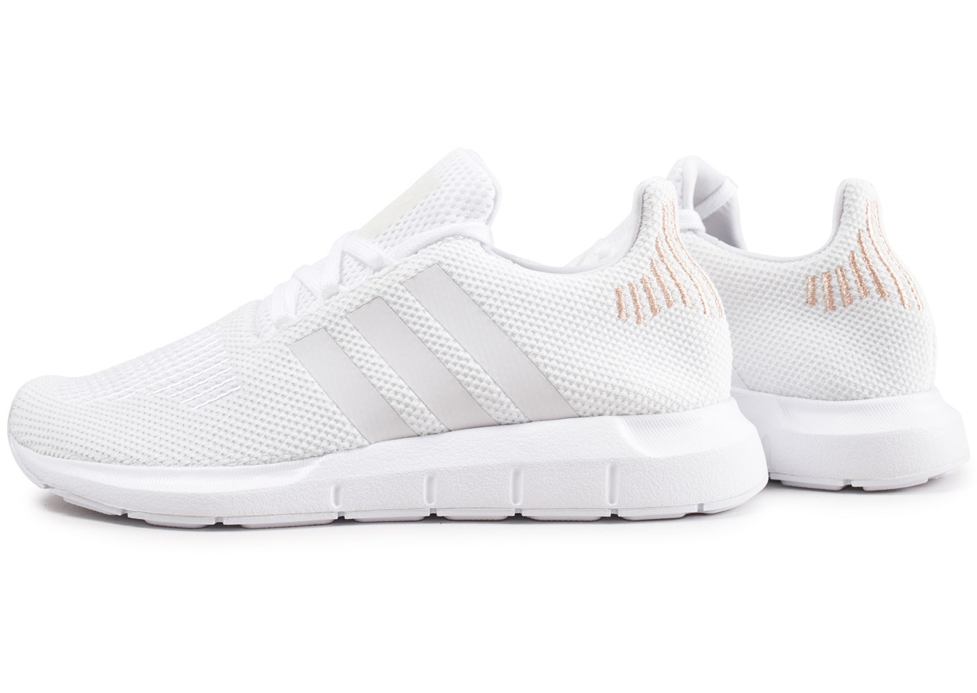 chaussures adidas blanche femme