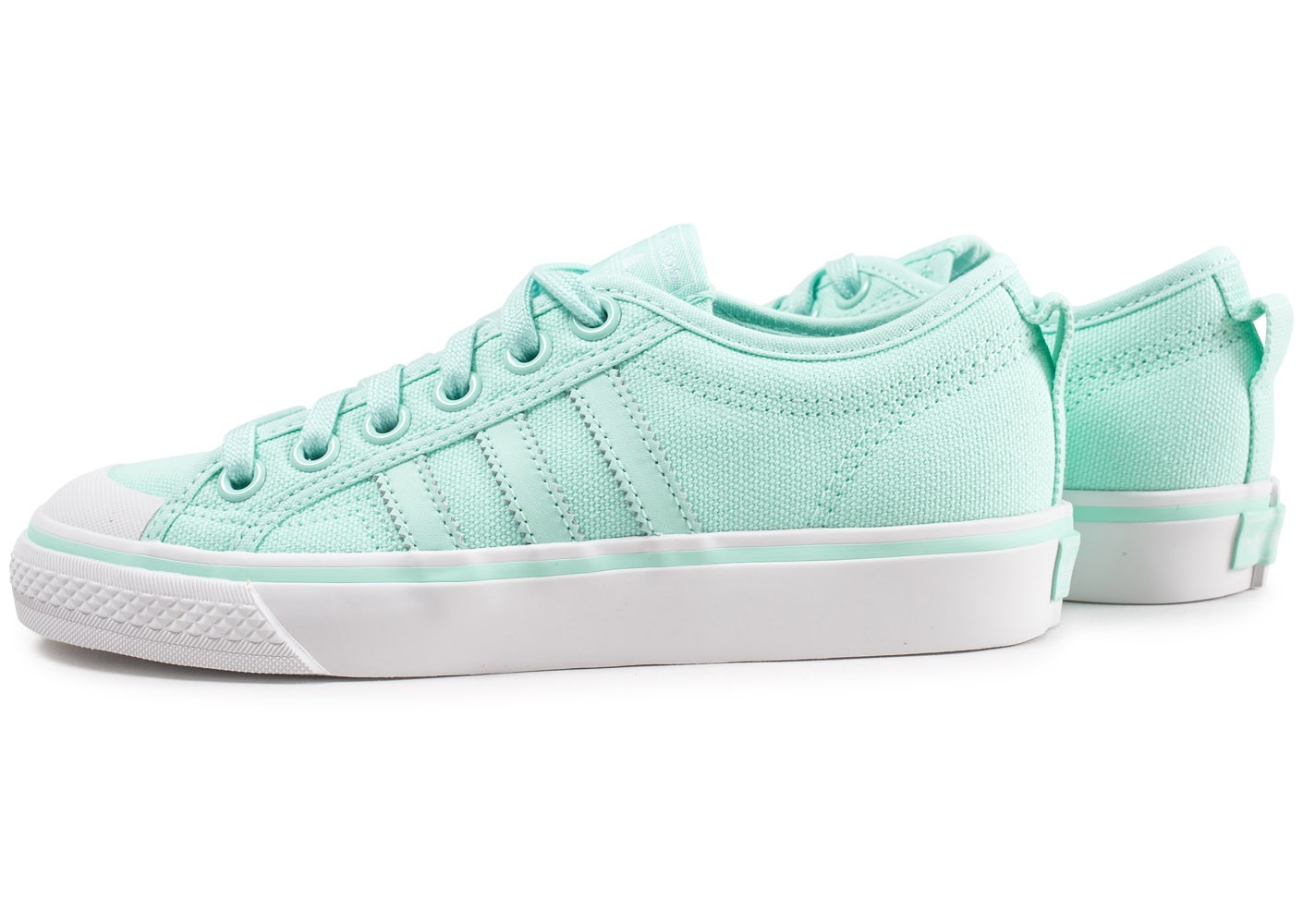 new style 8d006 9592b Chaussures Femme Chausport Nizza Verte Adidas Menthe qwYH0Ax
