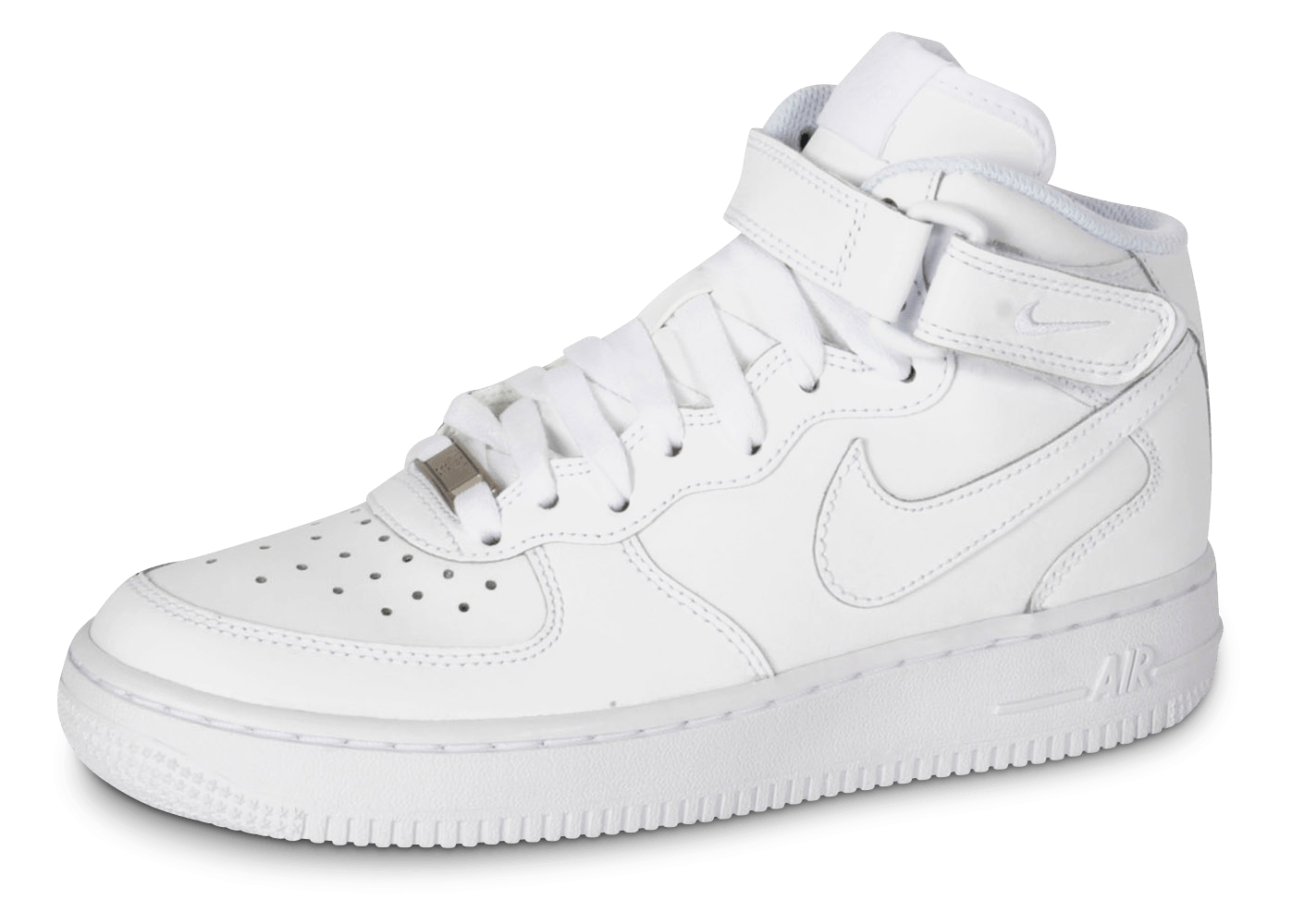 meilleur site web ad20f 0d7eb Nike Air Force 1 J Mid triple blanc