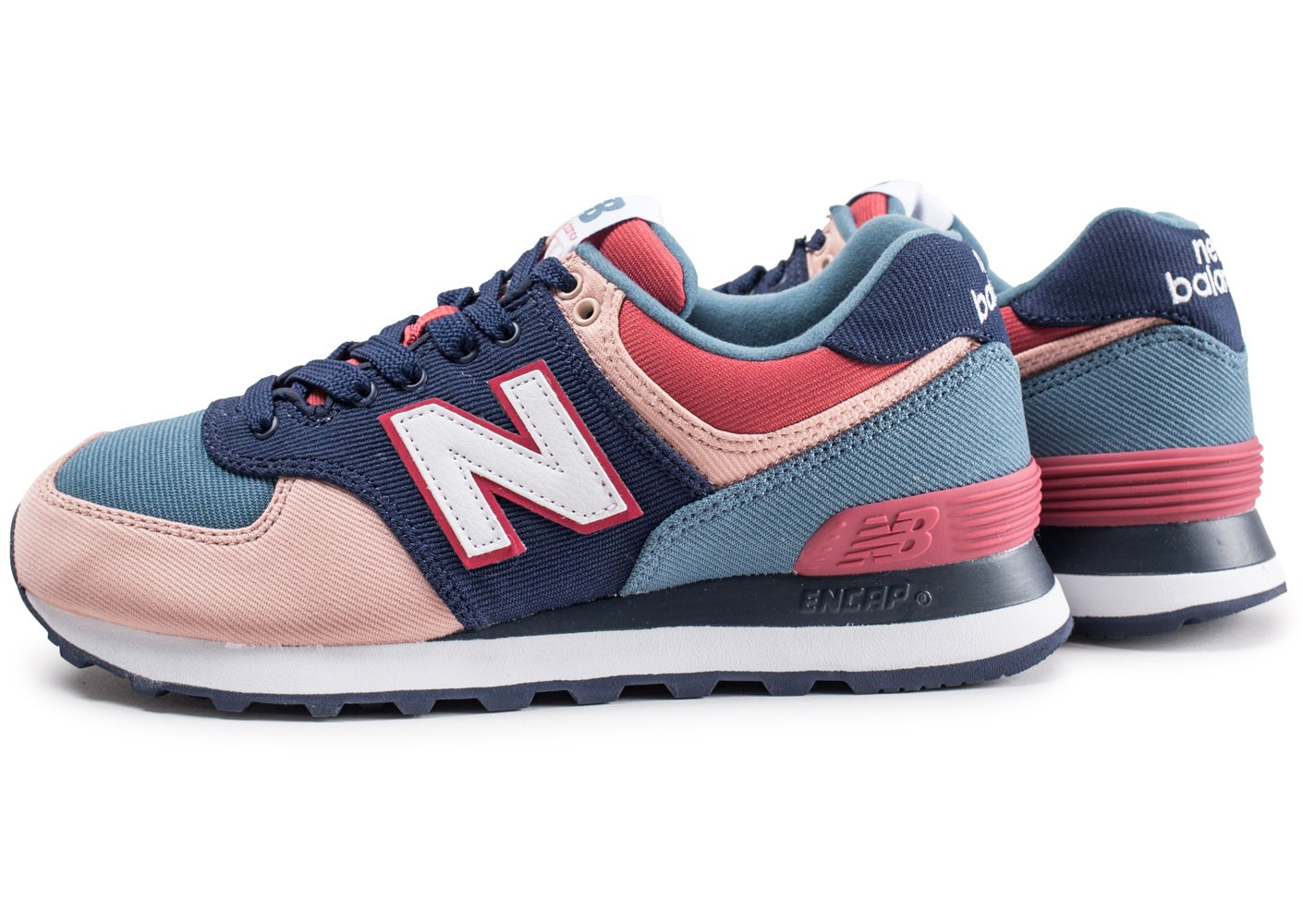Wl574ina Femme New Et Balance Bleue Chaussures Baskets Rose SxrX5rUq