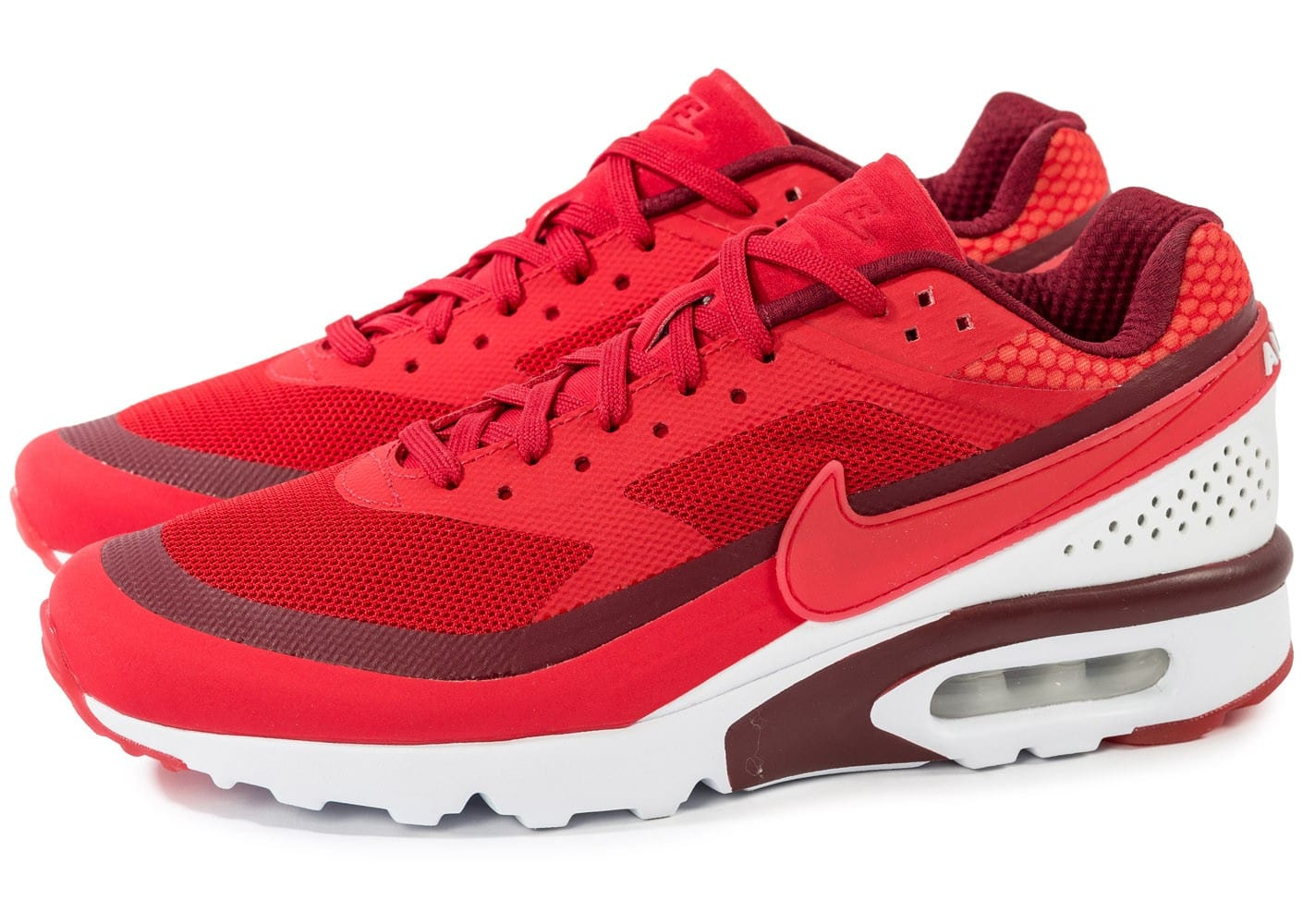 Nike Air Max BW Ultra rouge - Chaussures Baskets homme ...