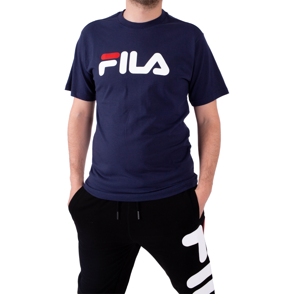 Fila Cropped Fitted T Shirt With Front Logo ShopperBoard