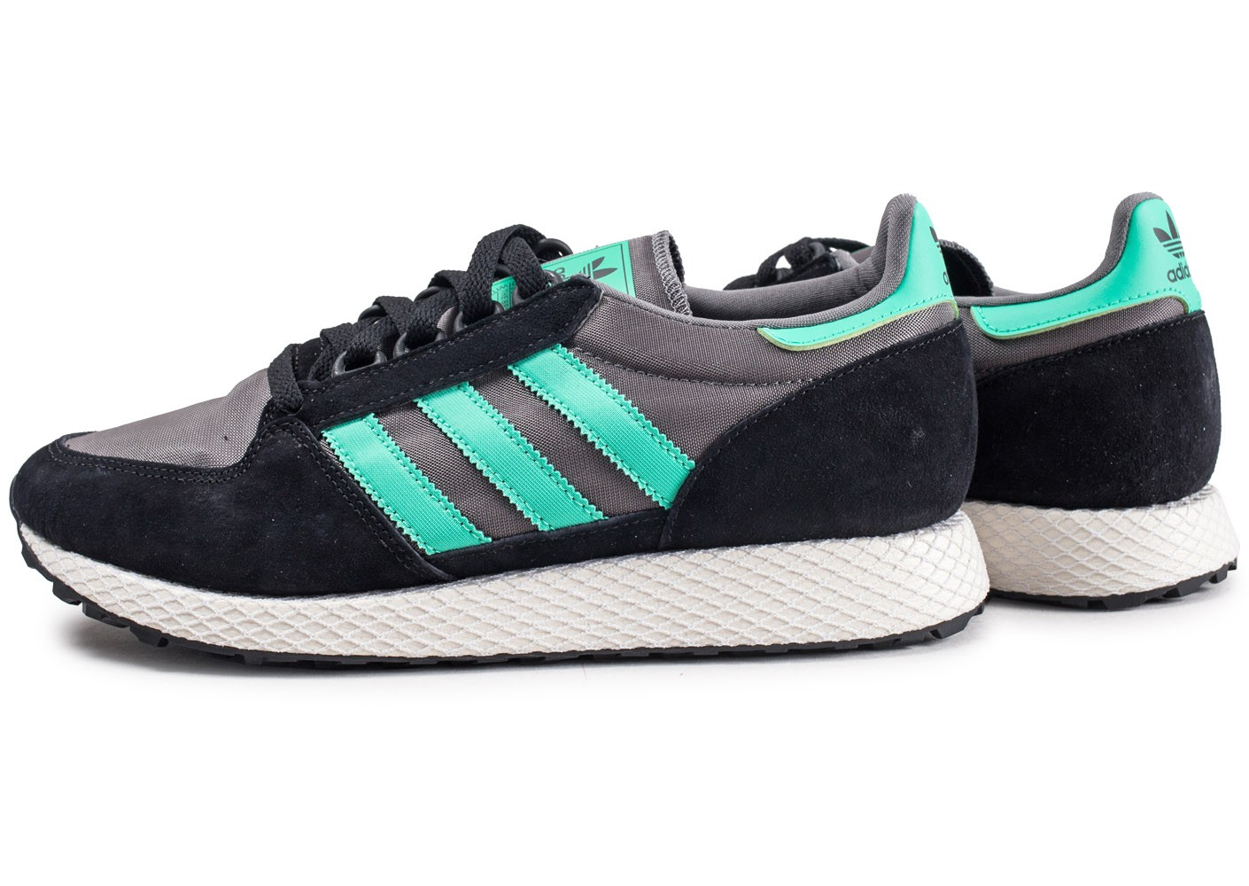 Forest Grove Baskets Homme Adidas Et Chaussures Noire Verte m0nywNv8O