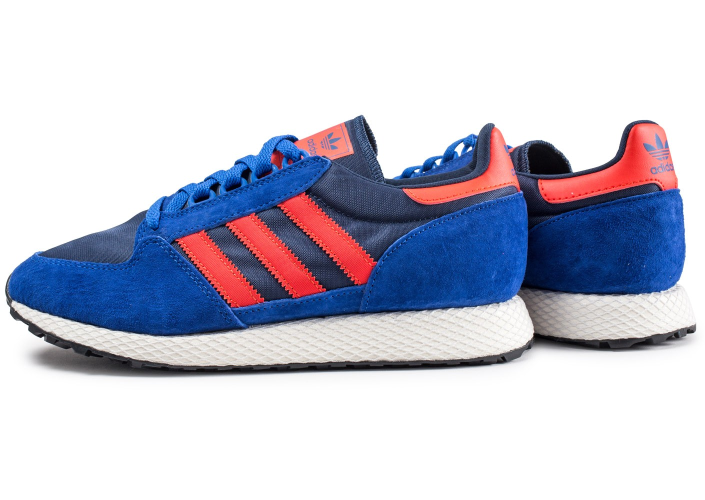 adidas Forest Grove Basket Mode Homme Rouge