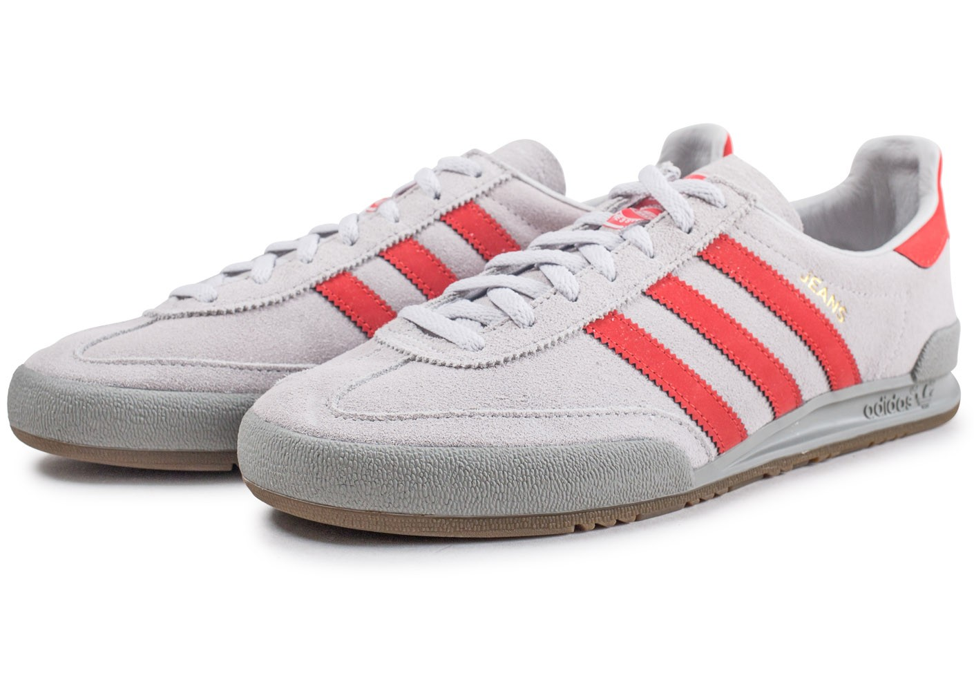 adidas Jeans grise et rouge Chaussures Baskets homme