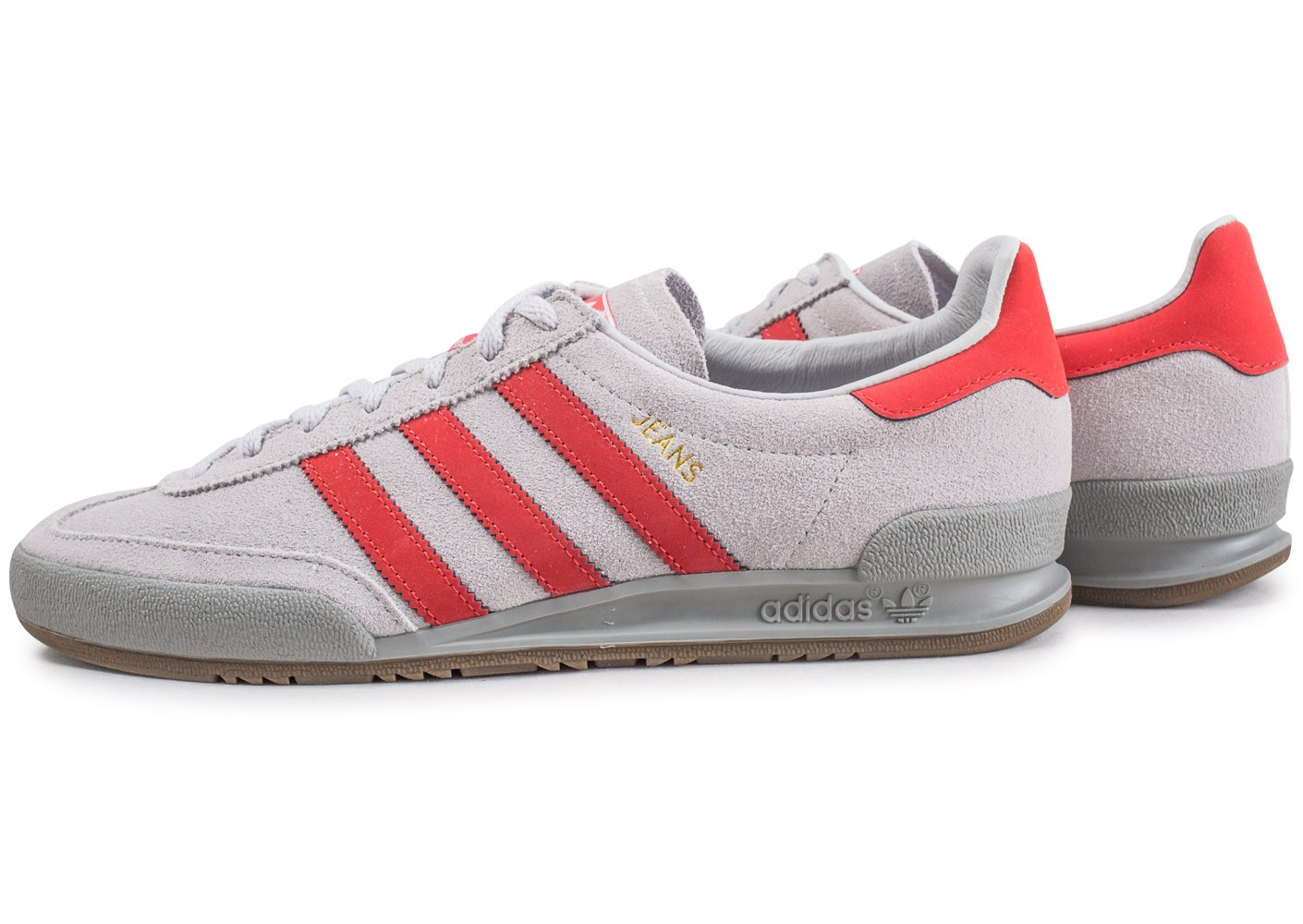adidas jeans chaussures grises