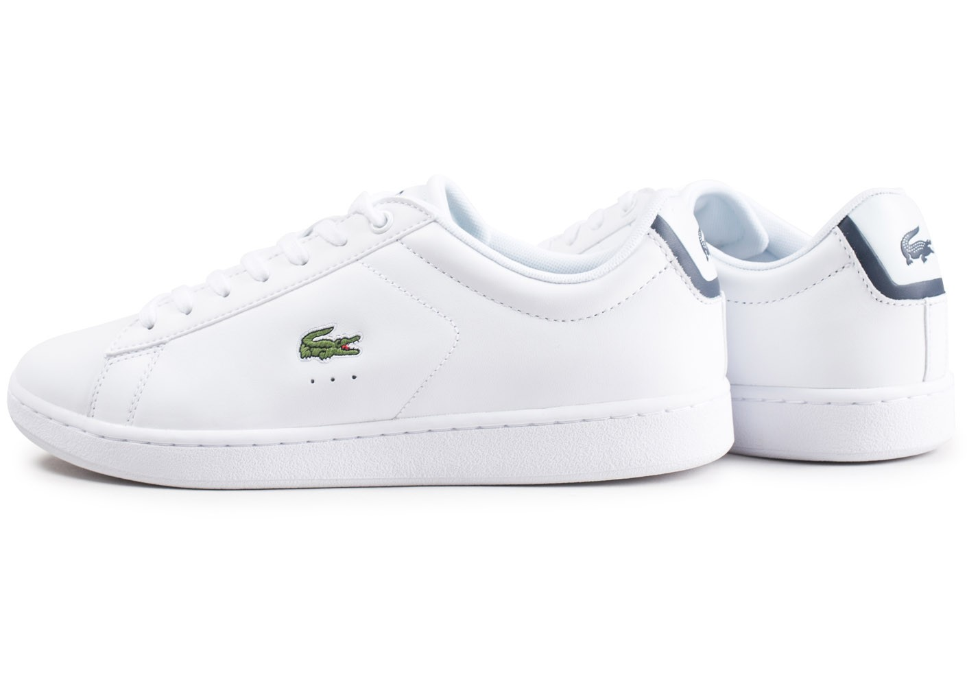 Evo Chaussures Chausport Baskets Homme Carnaby Cuir Blanc Lacoste CqA6xwf