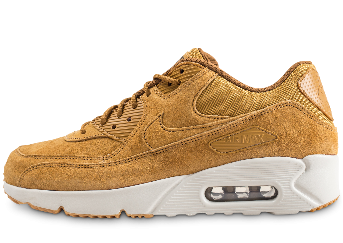 new concept c3cb6 3d712 Nike Air Max 90 Ultra 2.0 LTR wheat - Chaussures Baskets homme - Chausport