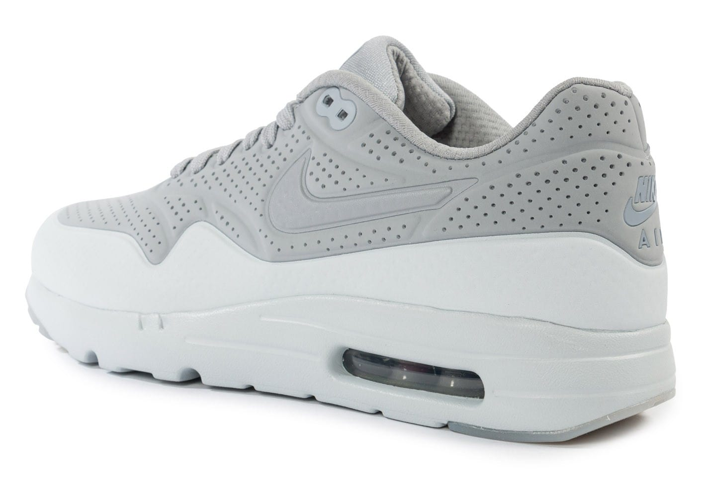 size 40 756f2 c8578 ... Chaussures Nike Air Max 1 Ultra Moire Wolf Grey vue arrière ...