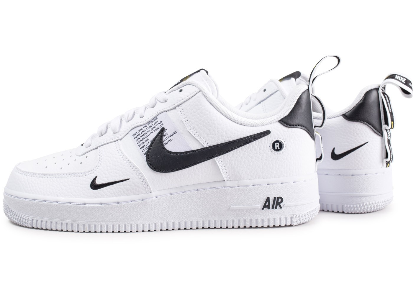 wholesale price wholesale dealer good service Nike Air Force 1 '07 LV8 Utility Blanche et noire ...