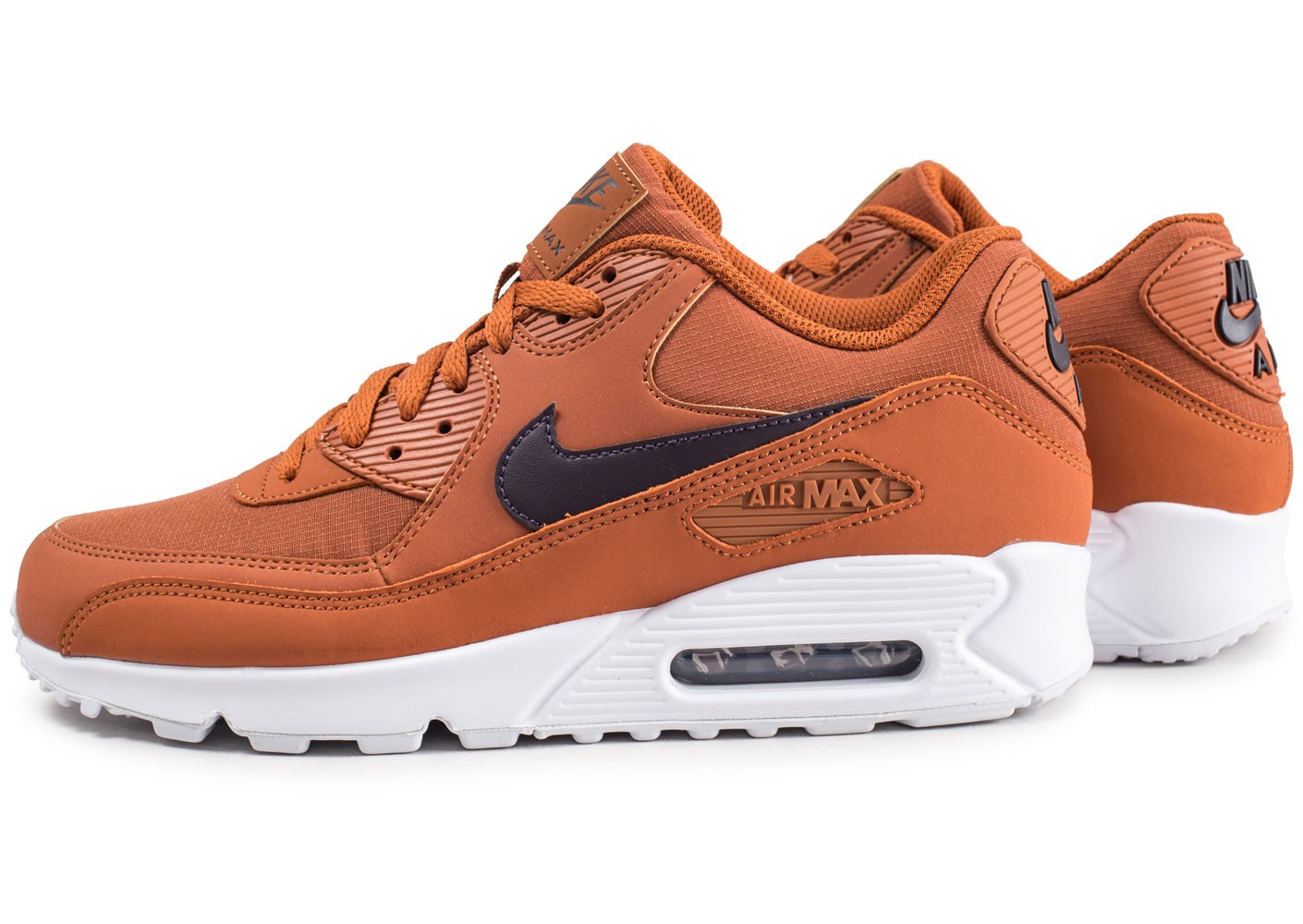Nike Air Max 90 Essential marron Chaussures Baskets homme